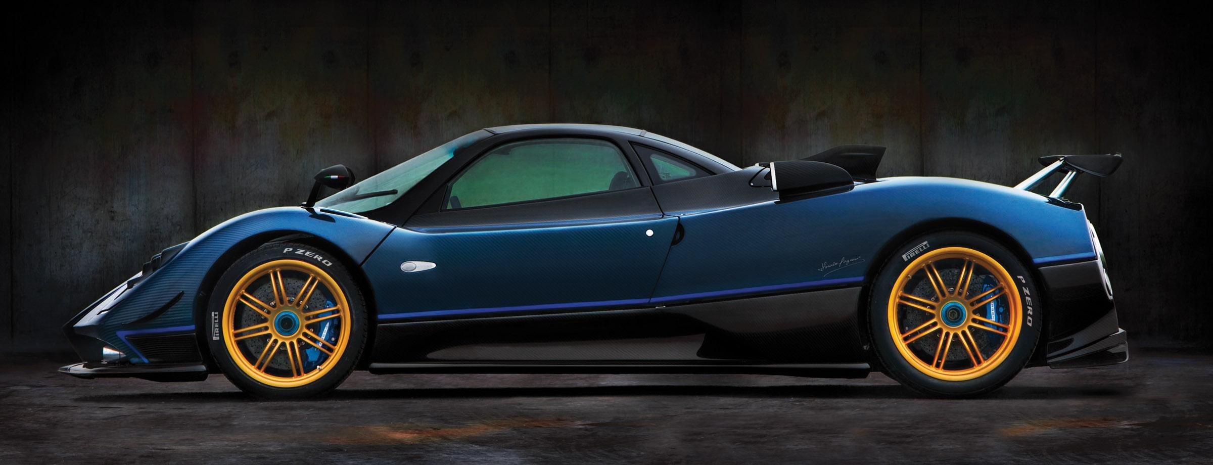 Pagani Automobili Unveils One Off Edition Zonda Tricolore