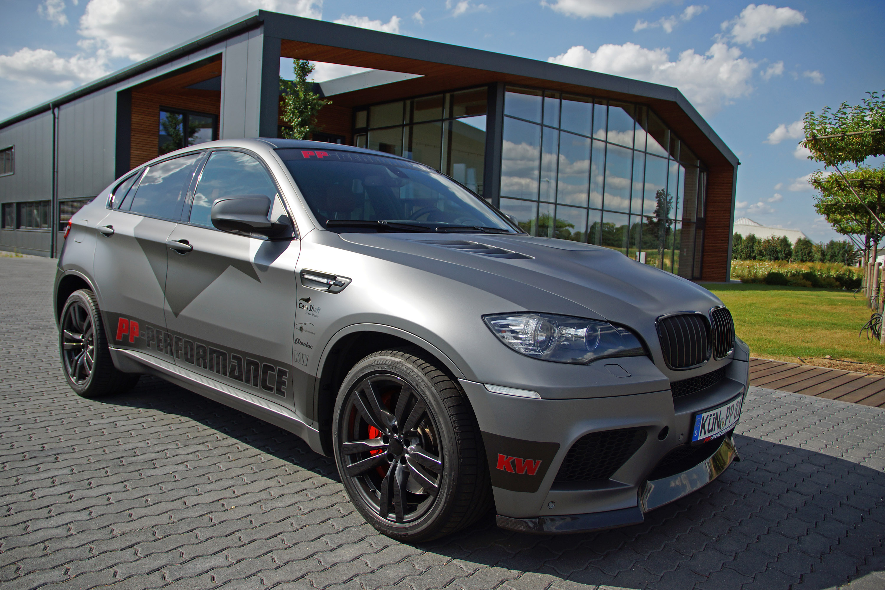 Pp Performance And Cam Shaft Bmw X6 M