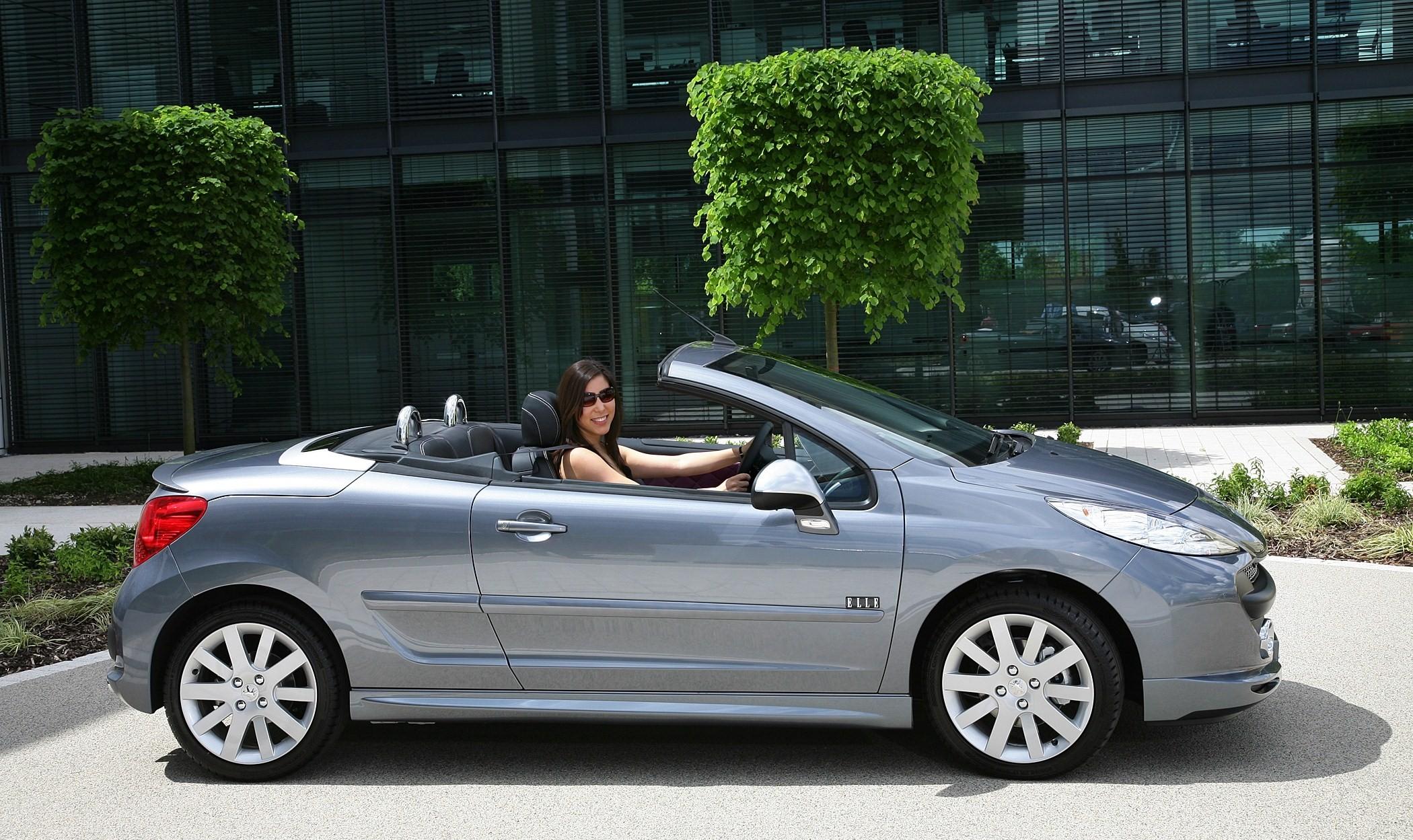 Peugeot 207 Cc Elle Struts Its Stuff For Summer 2008