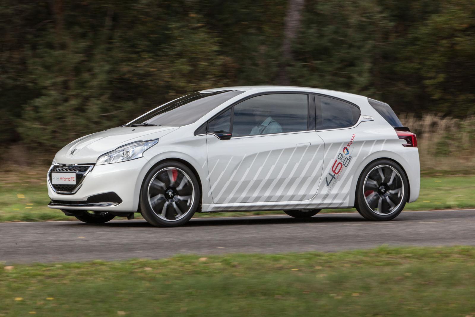 Peugeot 208 Hybrid Fe Concept Picture 90829