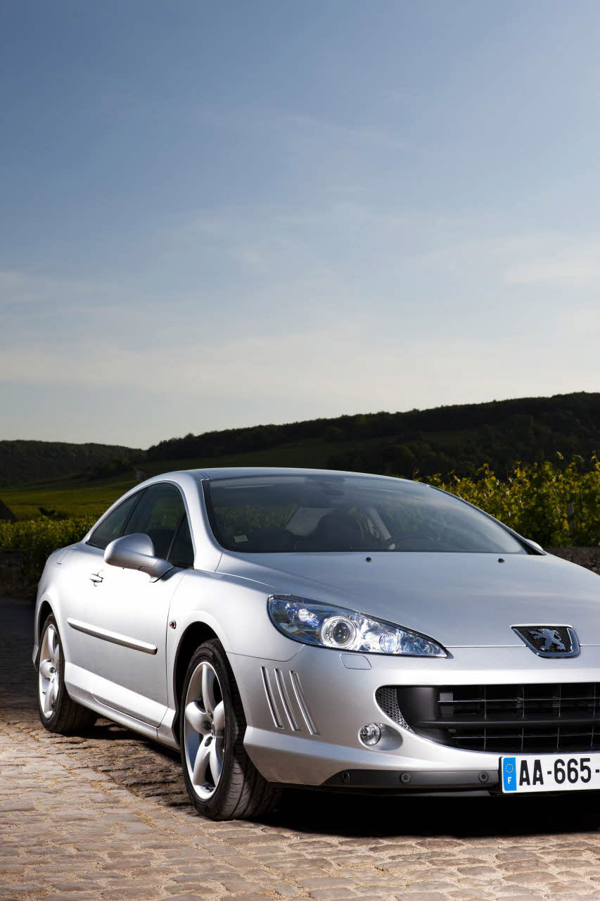 more power added to peugeot 407 coupe with the new gt model. Black Bedroom Furniture Sets. Home Design Ideas