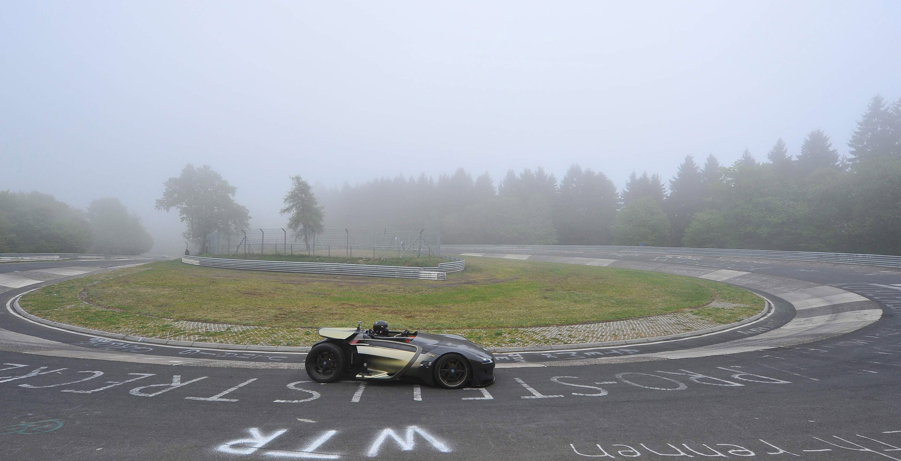Peugeot Ex1 Nurburgring Nordschleife Record Time