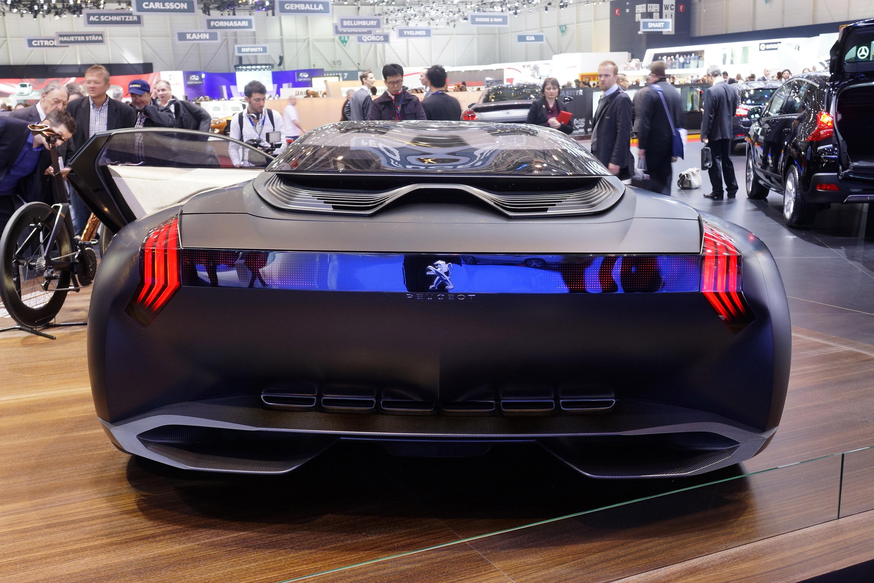 Peugeot Onyx Concept Geneva 2013 Picture 82521