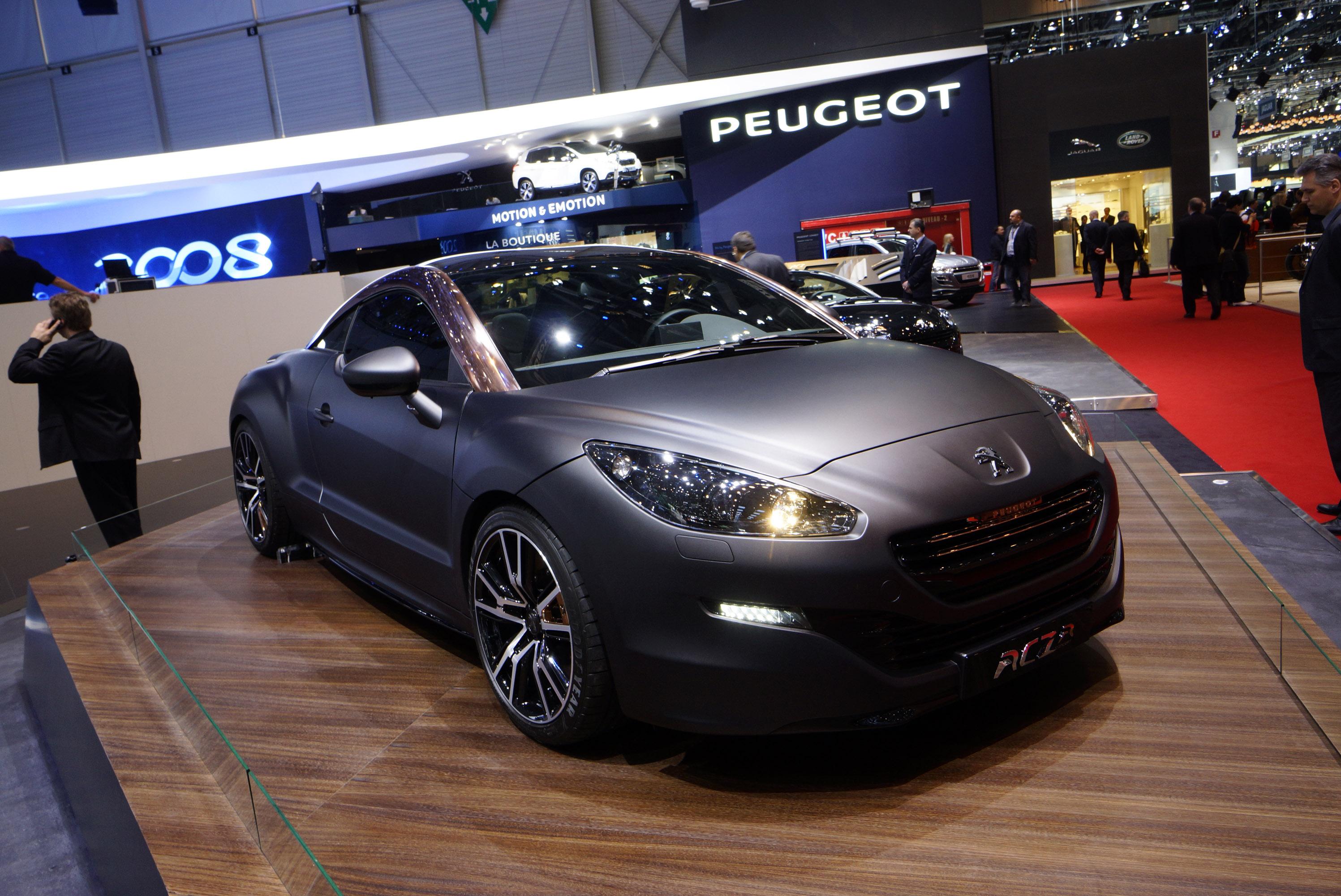 Peugeot RCZ R Concept Geneva 2013 - Picture 82524