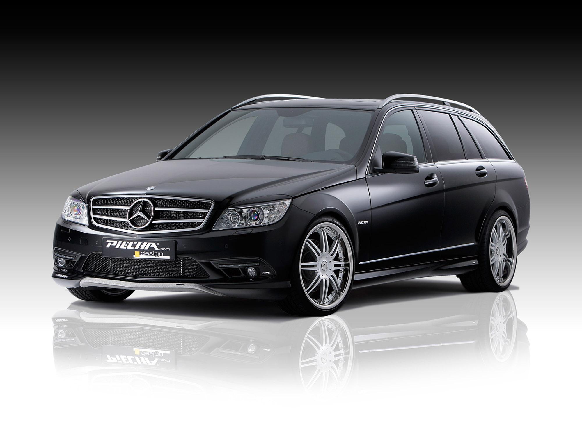 Piecha design refines the mercedes benz c class estate for Mercedes benz design