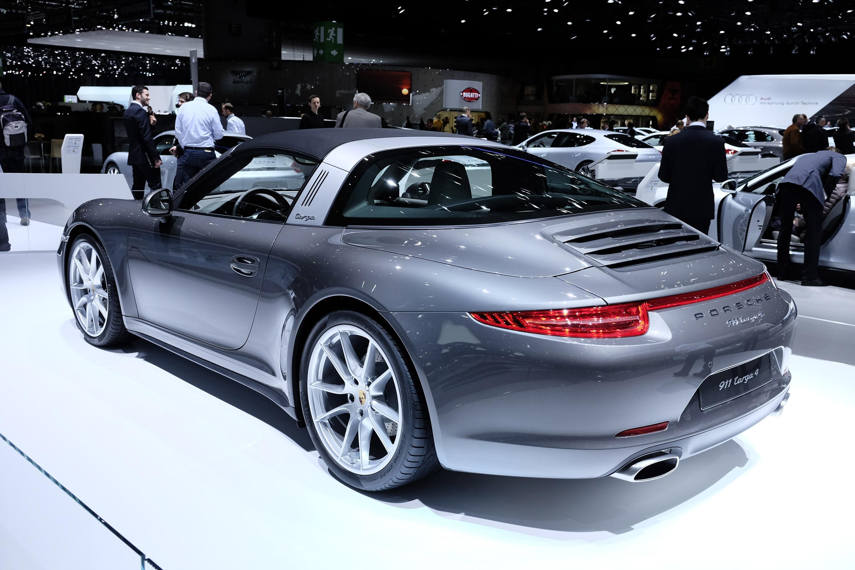 Porsche 911 Targa 4 Geneva 2014 Picture 99572