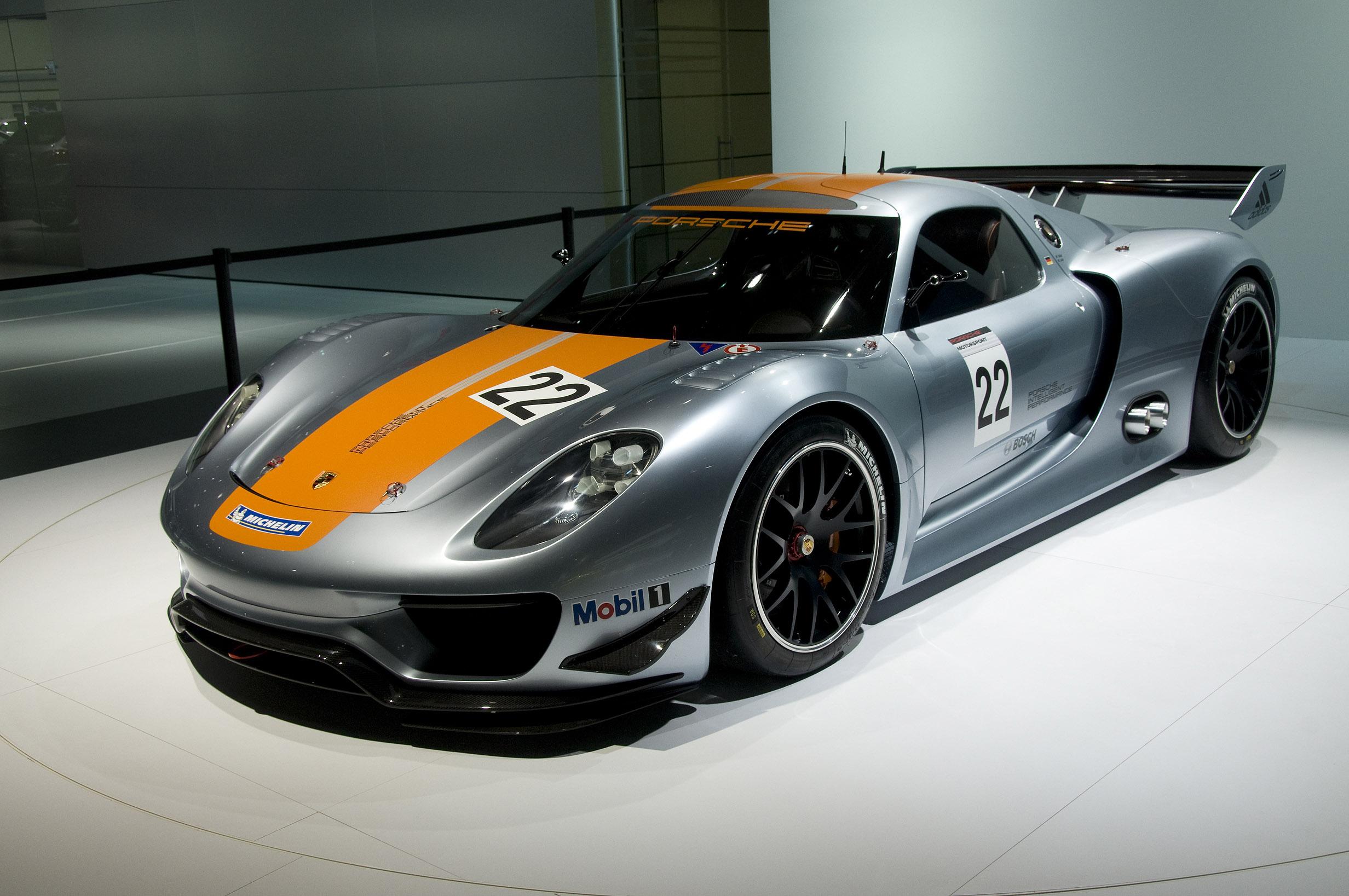 porsche 918 rsr detroit - Porsche 918 Rsr Wallpaper
