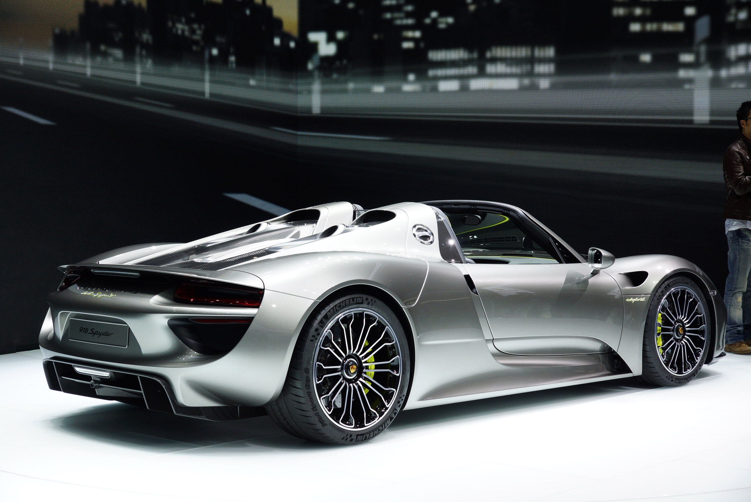 porsche 918 spyder frankfurt 2013 picture 89083. Black Bedroom Furniture Sets. Home Design Ideas