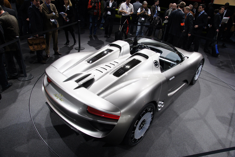 porsche-918-spyder-geneva-2010-03 Gorgeous Porsche 918 Spyder High-performance Concept Cars Trend