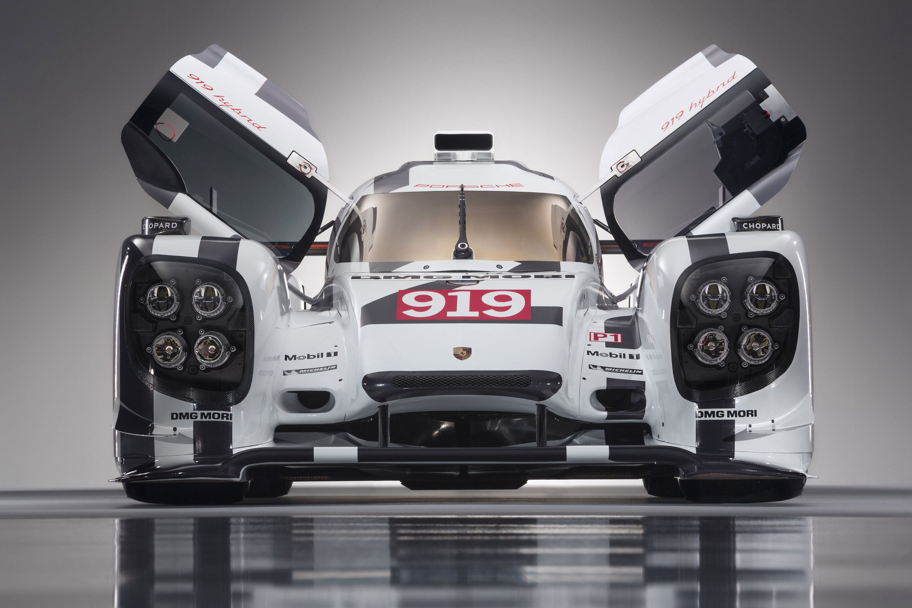 Porsche 919 Hybrid V4 2 0 Liter Turbo Engine