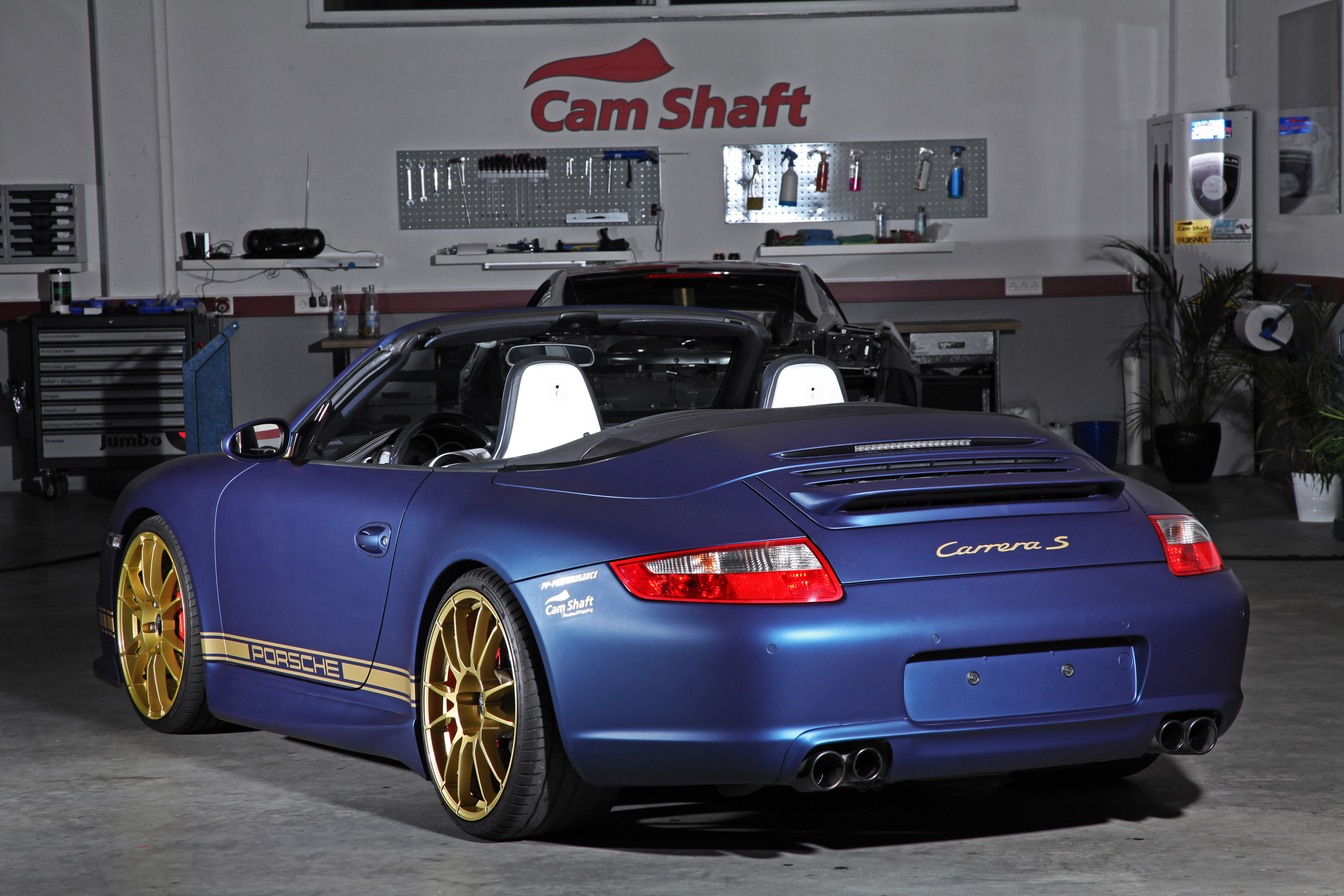 porsche 997 carrera s cabriolet by cam shaft pp performance. Black Bedroom Furniture Sets. Home Design Ideas