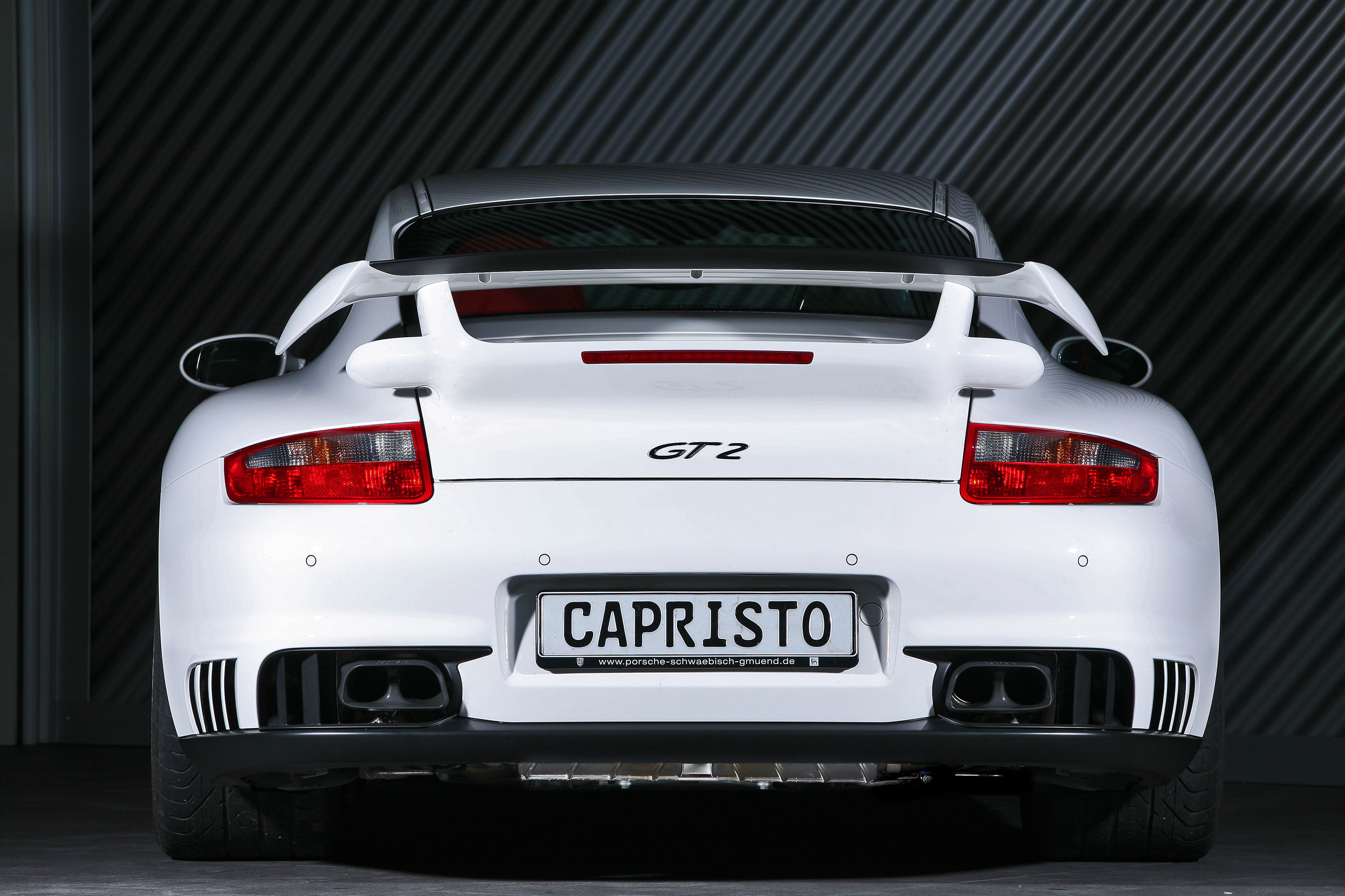 porsche 997 gt2 capristo exhaust picture 30310. Black Bedroom Furniture Sets. Home Design Ideas