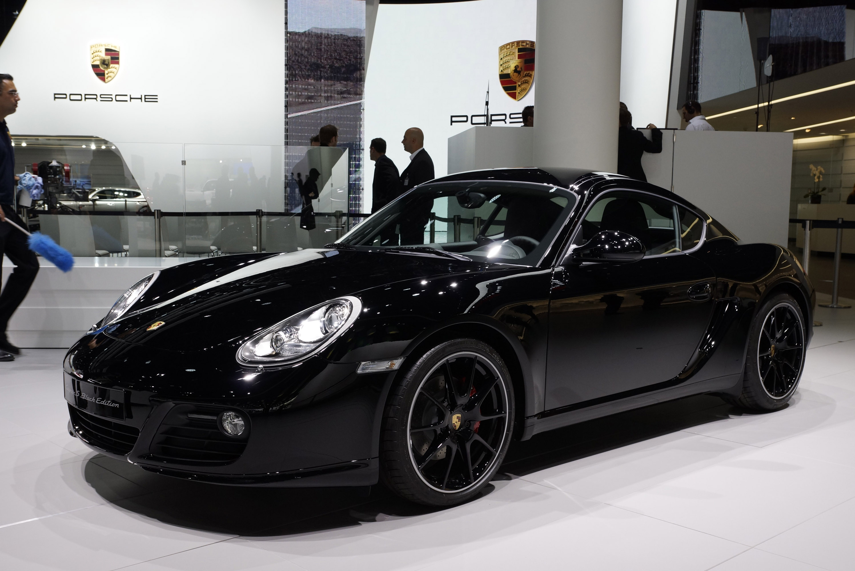Porsche Cayman S Black Edition Frankfurt 2011 Picture 59029