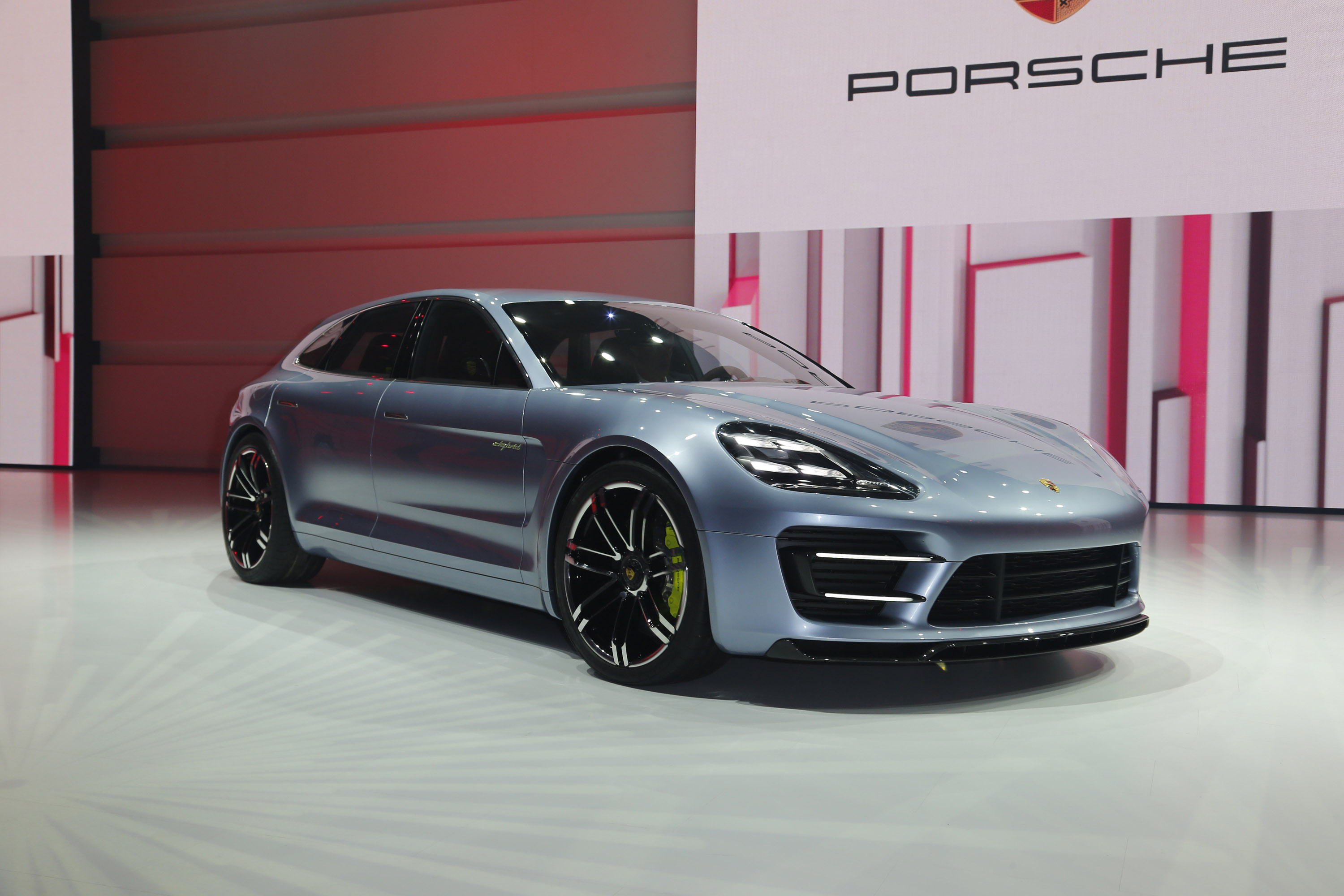 Glimpse Of The New Porsche Panamera Sport Turismo Concept Car