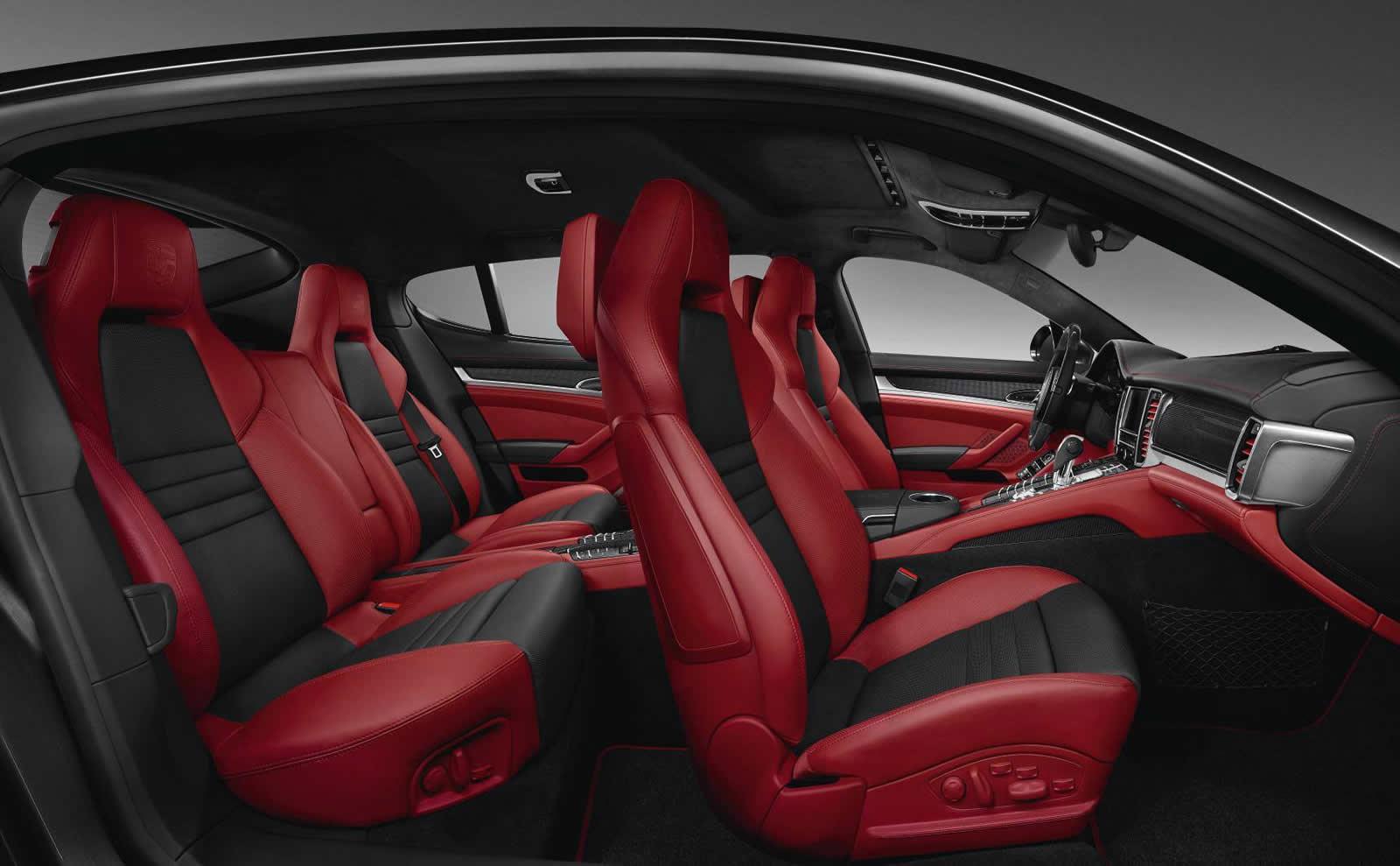 porsche panamera turbo s exclusive 3 of 3 - Porsche Panamera 2014 Black