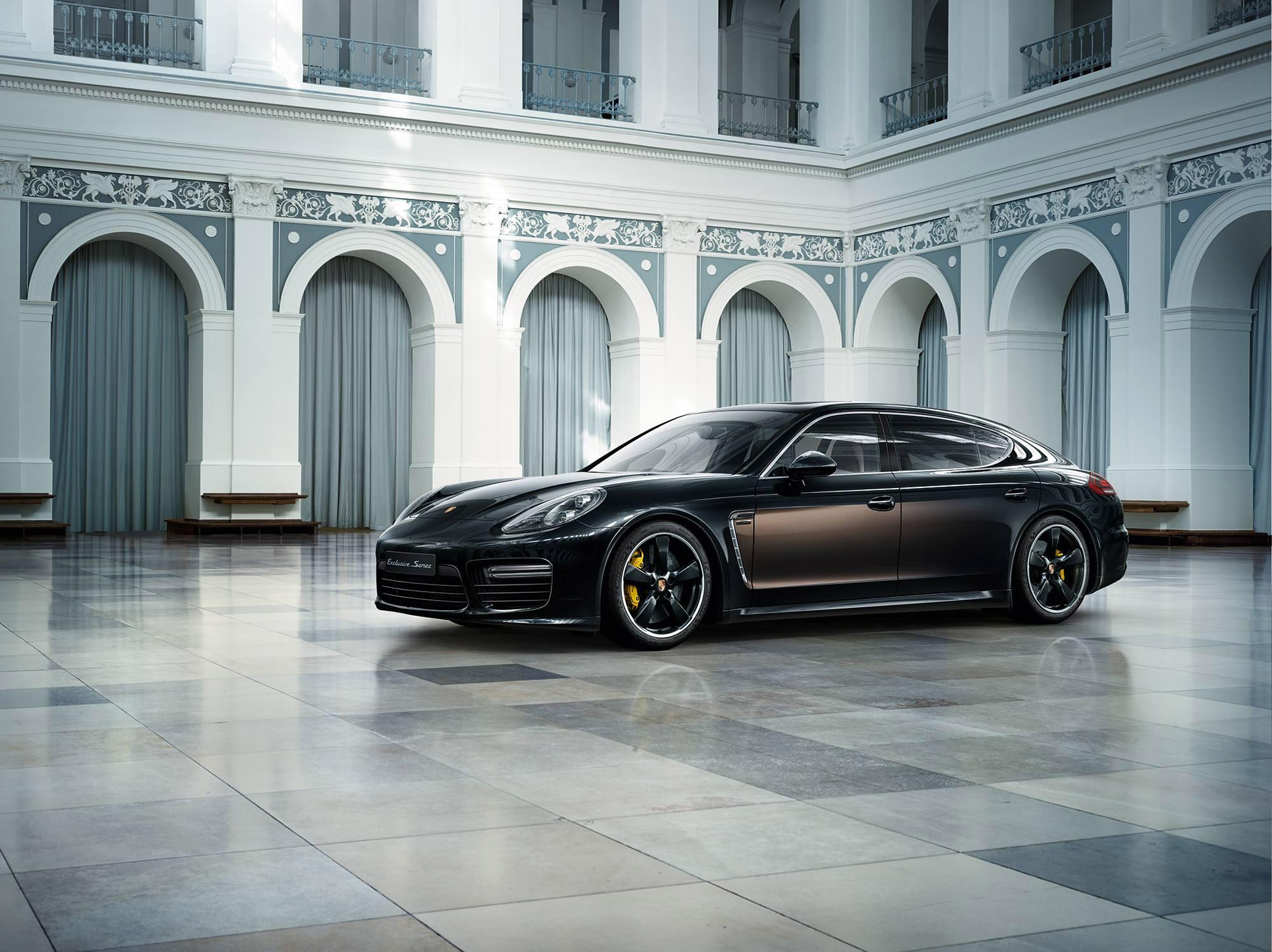 Porsche Macan Gts >> Porsche Panamera Turbo S Executive Exclusive Series ...