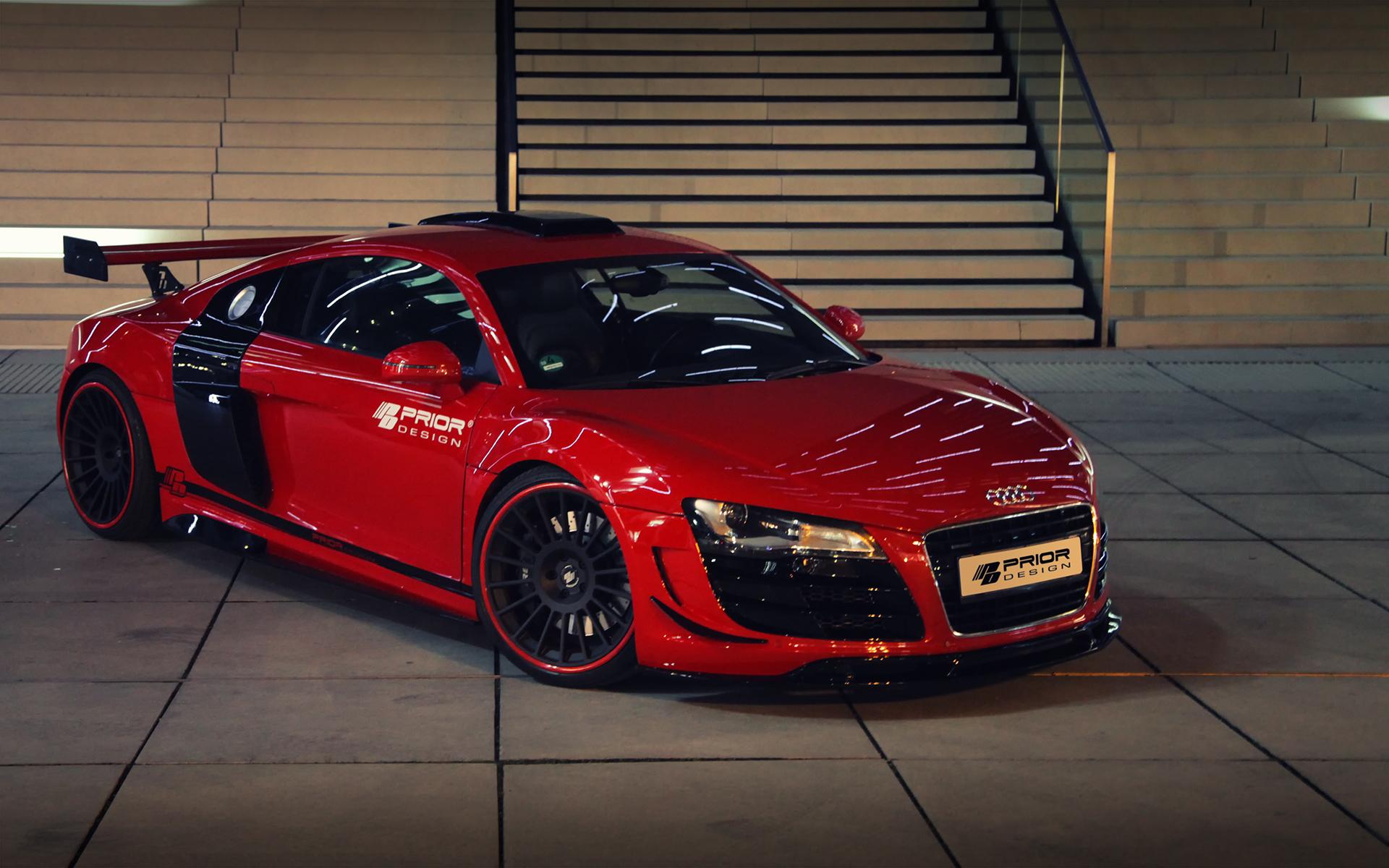 Prior Design Audi R8 Pd Gt650 Brings More Aerodynamism