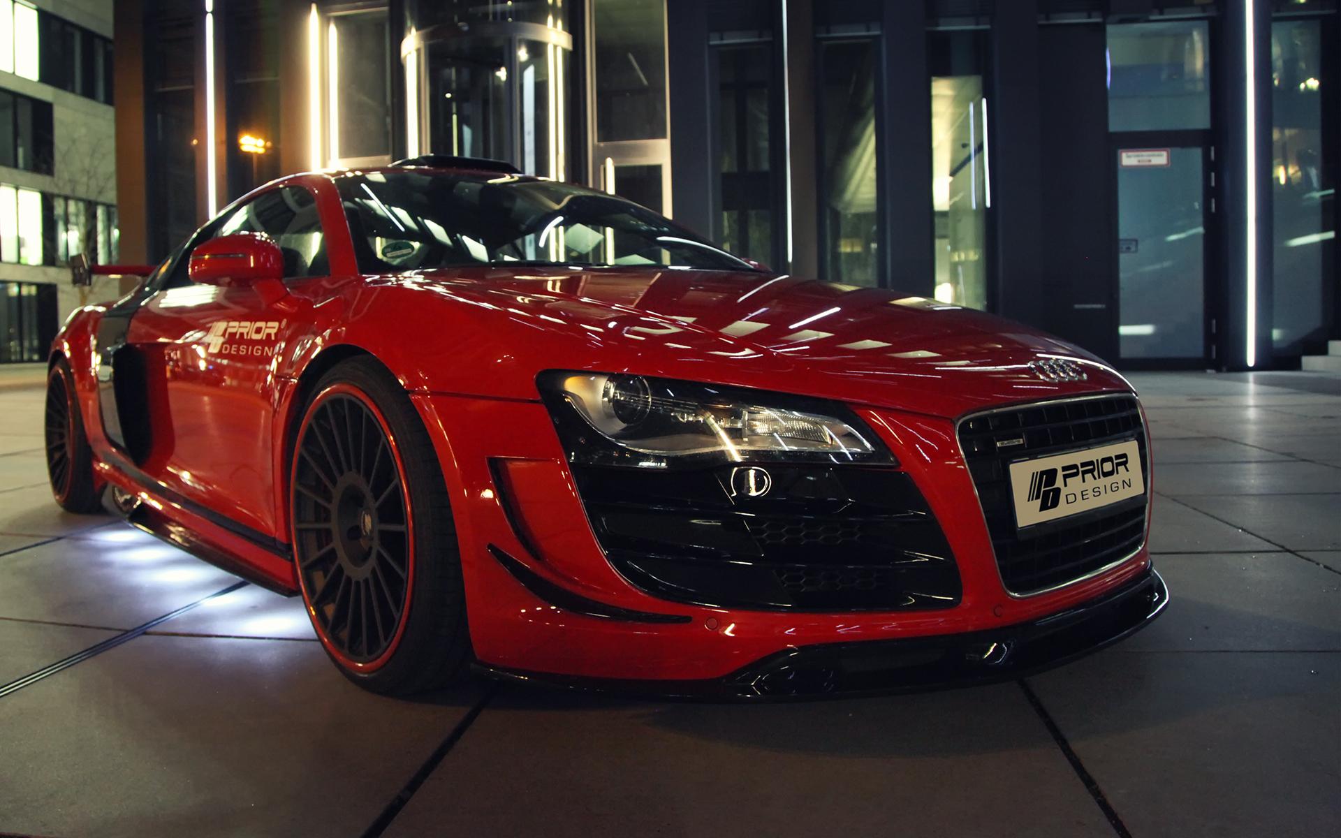 Phoenix Auto Parts >> Prior Design Audi R8 PD GT650 Brings More Aerodynamism