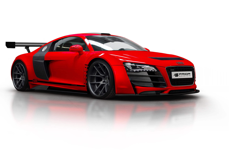 Prior Design Audi R8 Pd Gt850 Seduction In Red