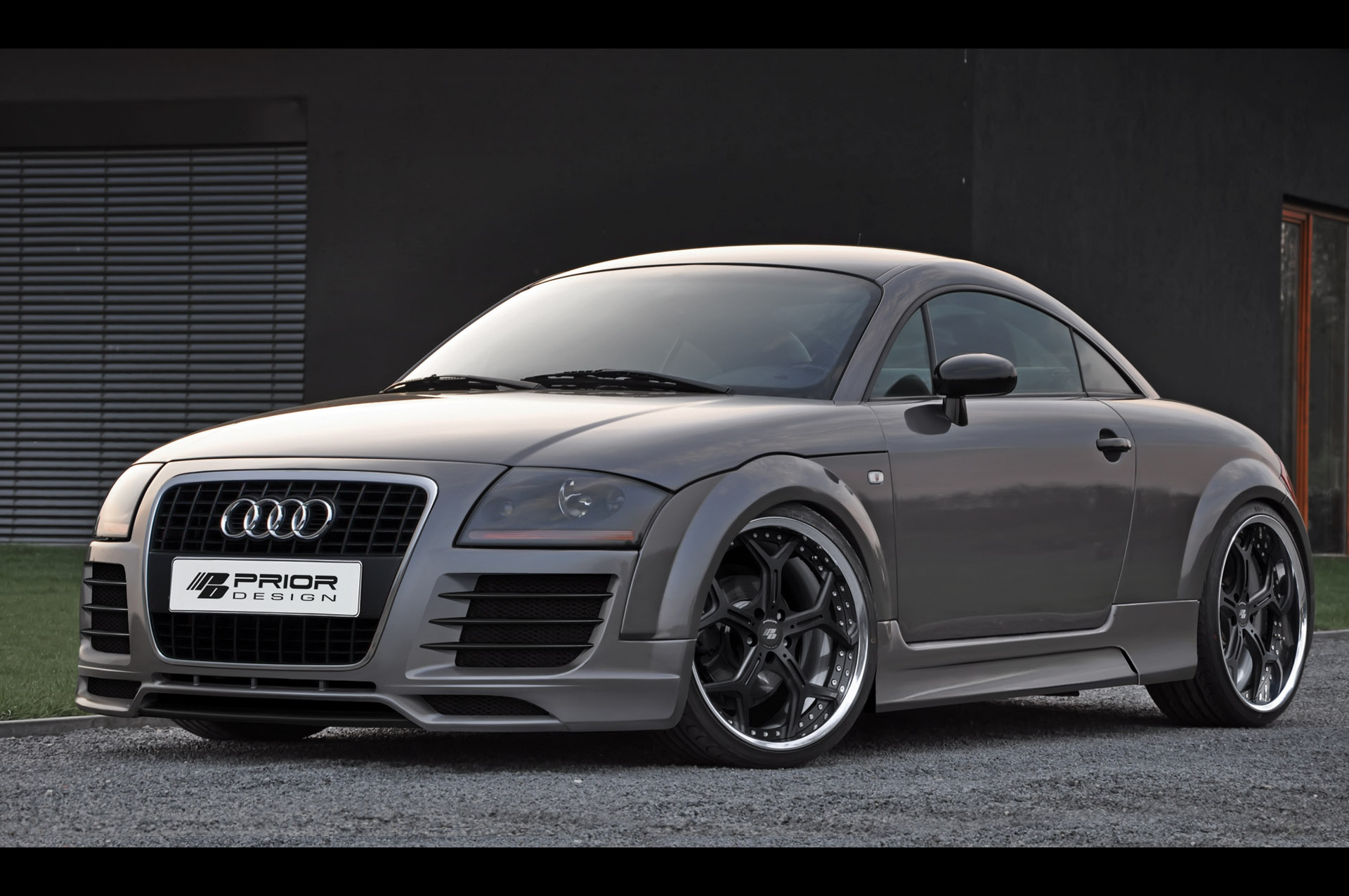 prior design audi tt aerodynamic kit. Black Bedroom Furniture Sets. Home Design Ideas