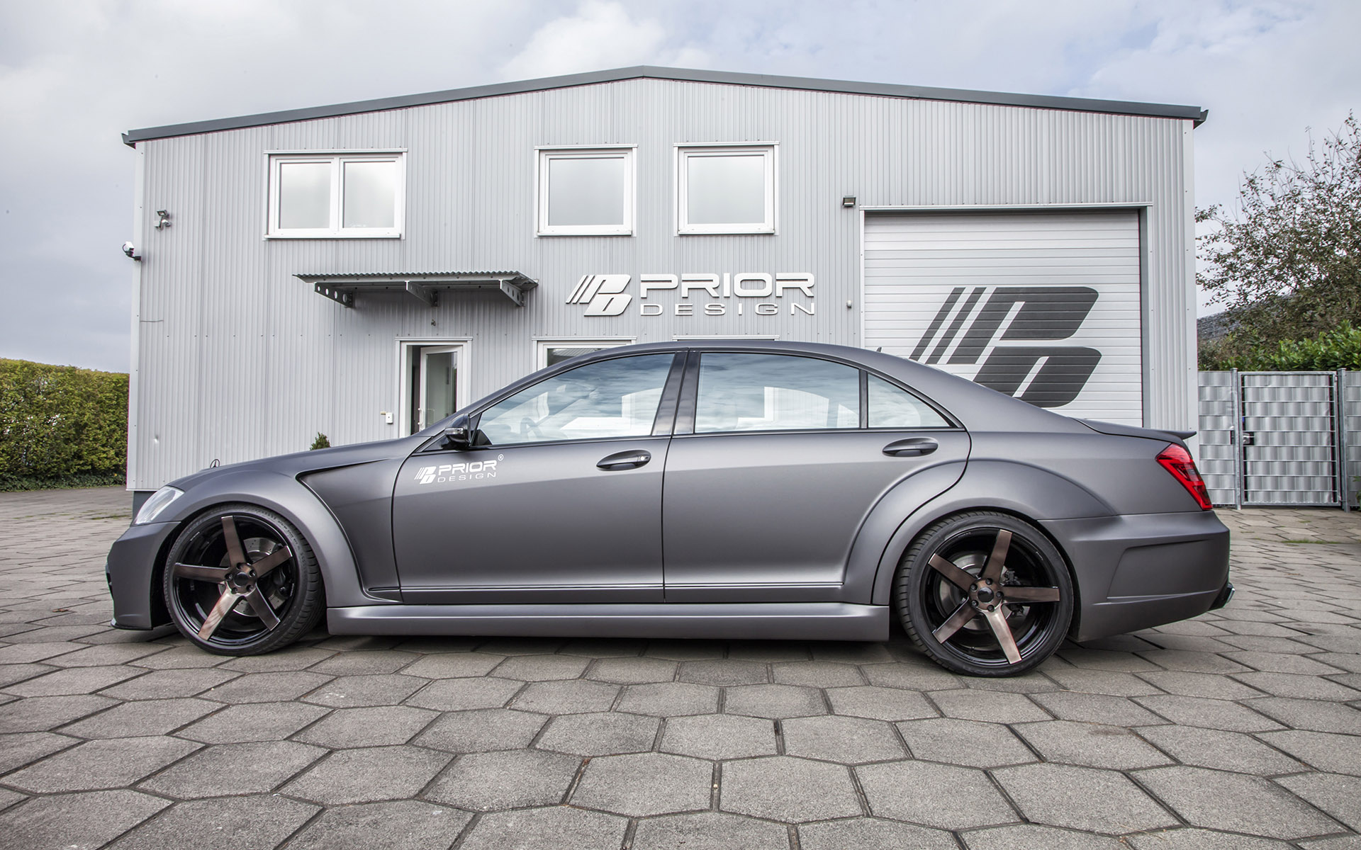 PRIOR-DESIGN Black Edition V3 Widebody Aero-Kit for ...