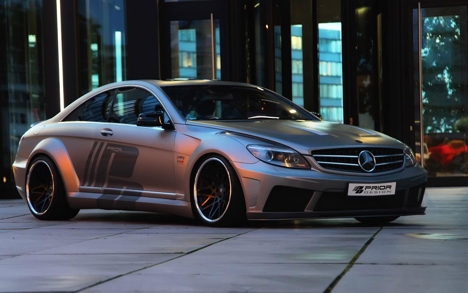 Mercedes cl black edition v2 aerodynamic kit by prior design for Mercedes benz design