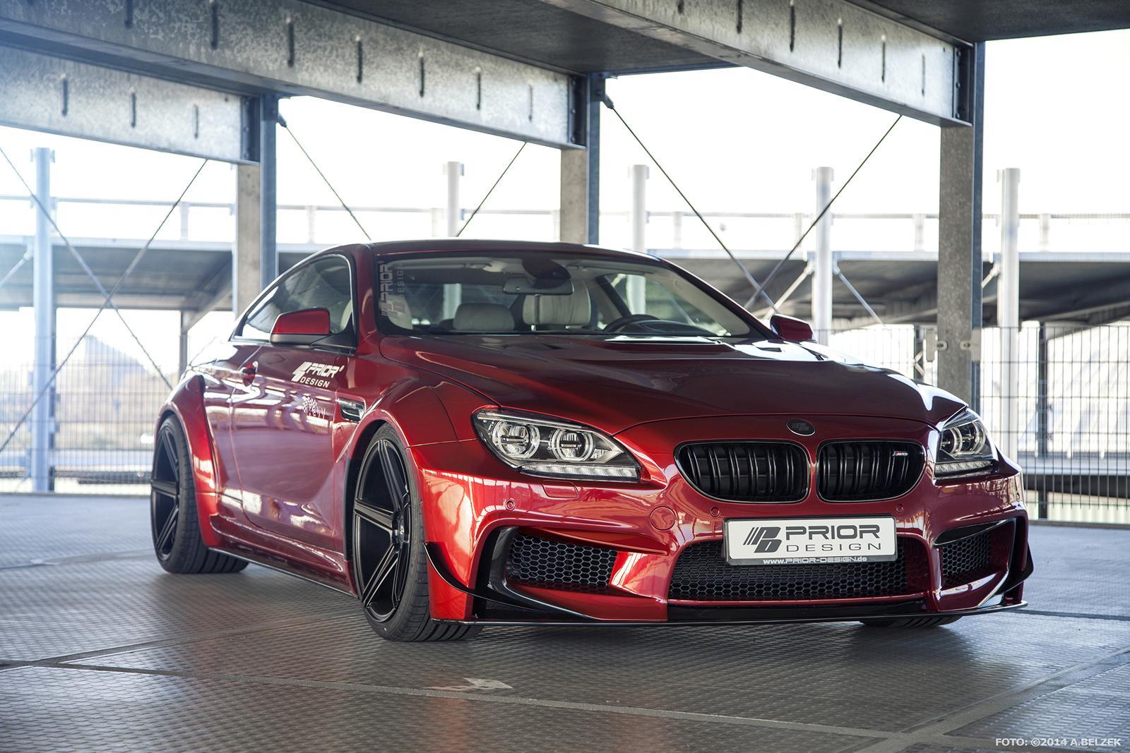 BMW M6 Gran Coupe >> Prior Design BMW 6-Series Coupe Wide Body