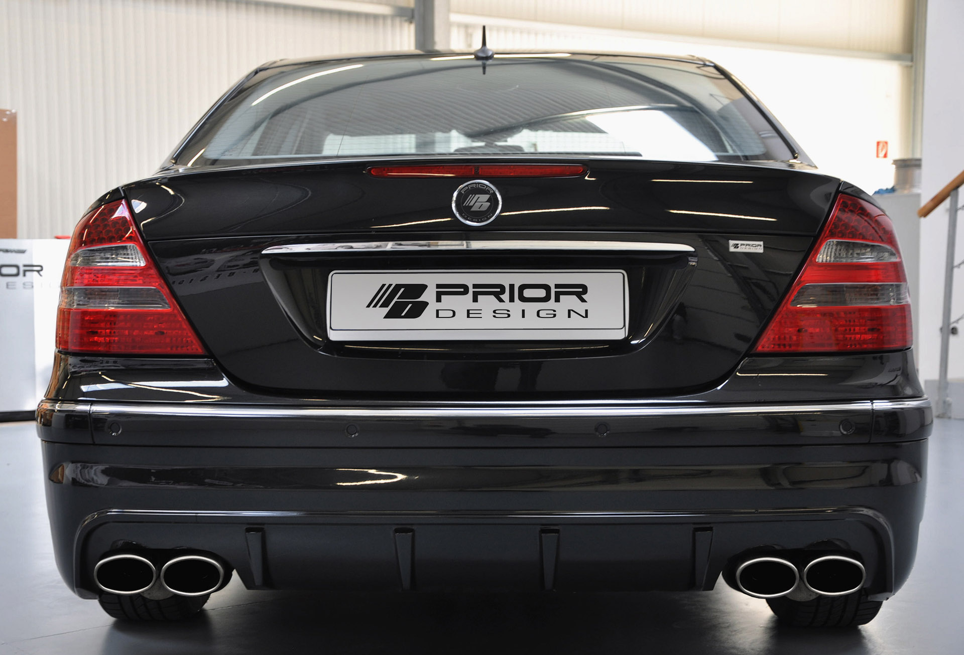 Tuning wald international mercedes benz e class estate w211 -  Prior Design Mercedes Benz E Class W211