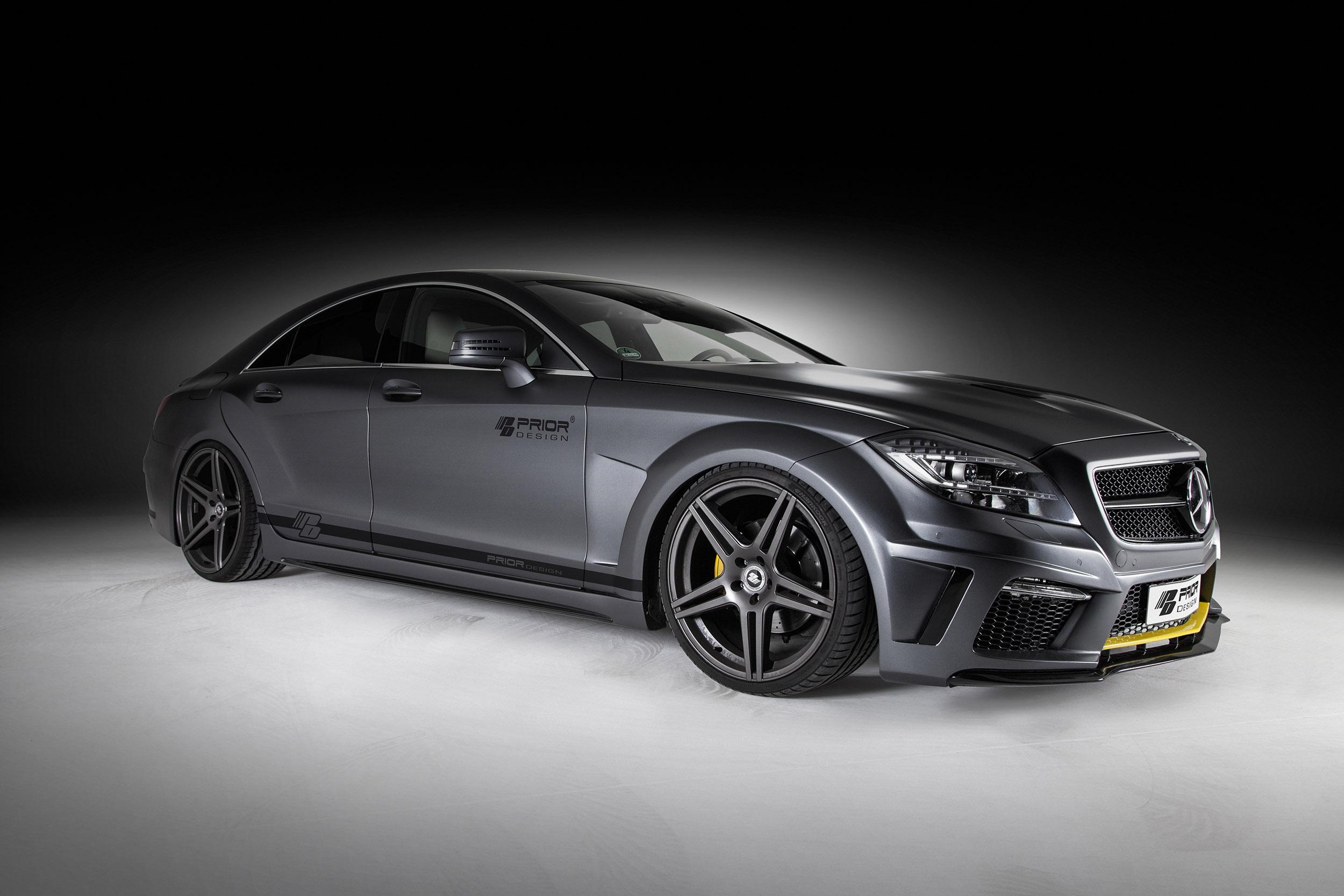 Prior design mercedes benz cls pd550 black edition exudes for Mercedes benz design