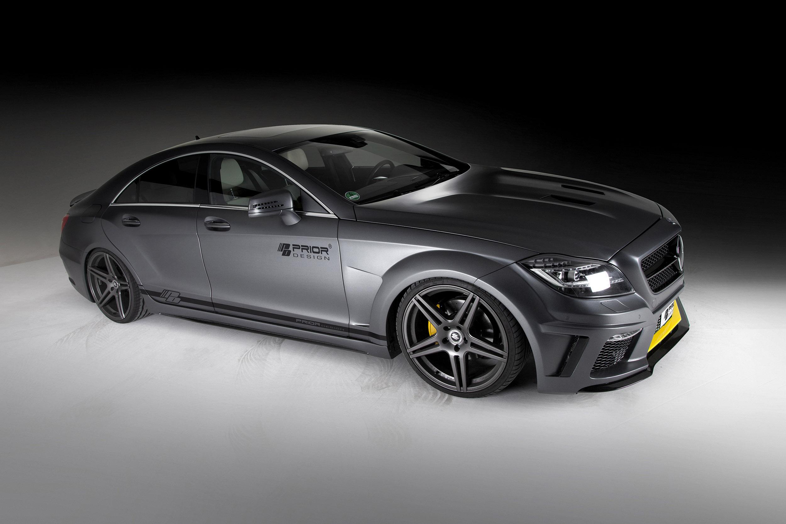 Prior Design Mercedes Benz Cls Pd550 Black Edition Exudes