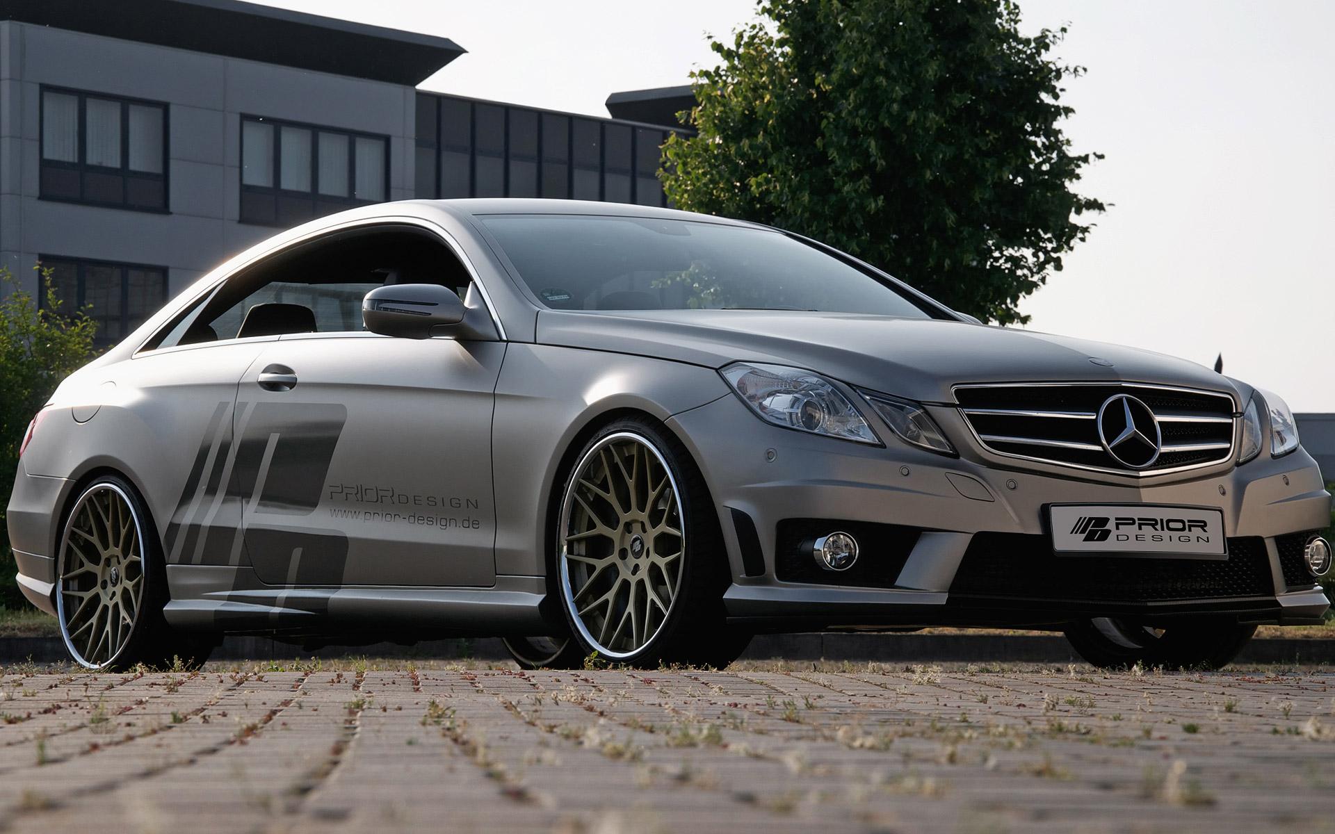 Prior design mercedes benz e class c207 with enhanced for Mercedes benz design