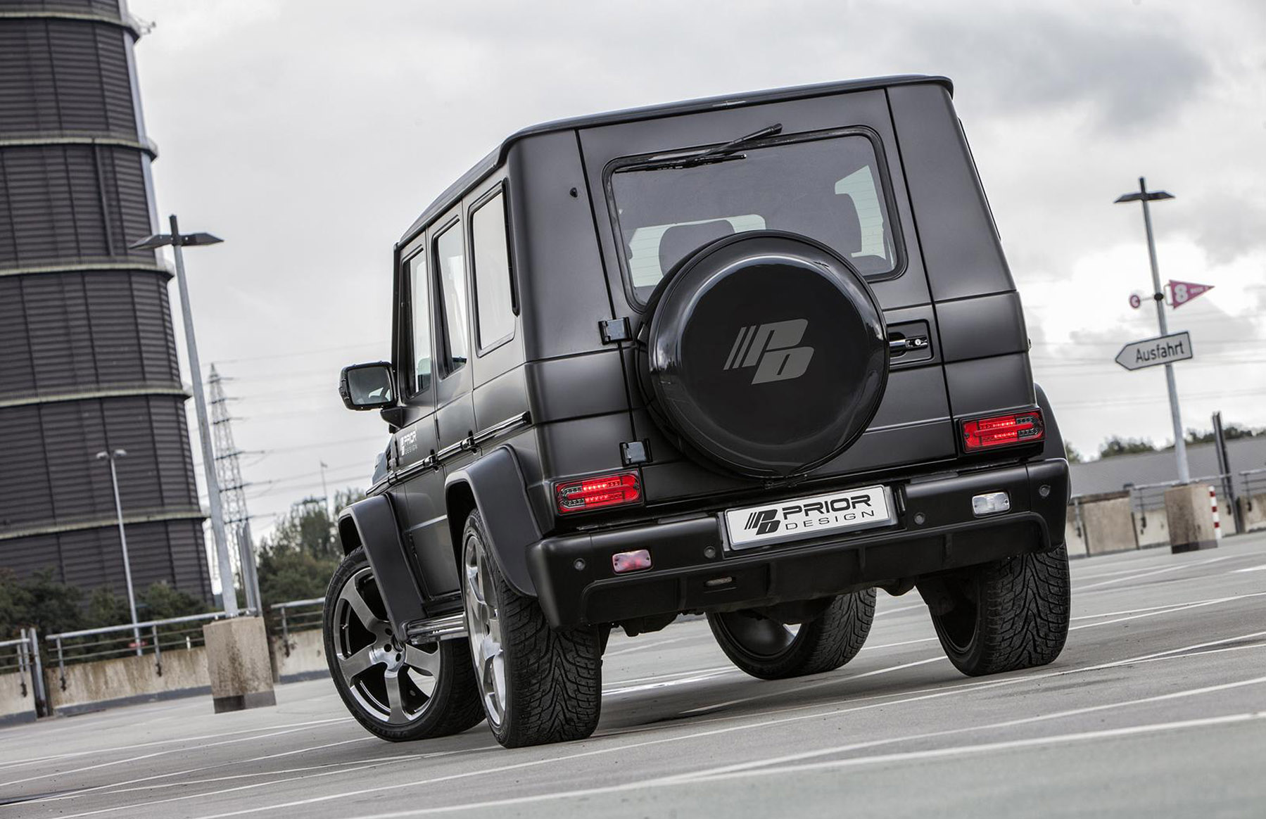 Prior Design Mercedes Benz G Class W463