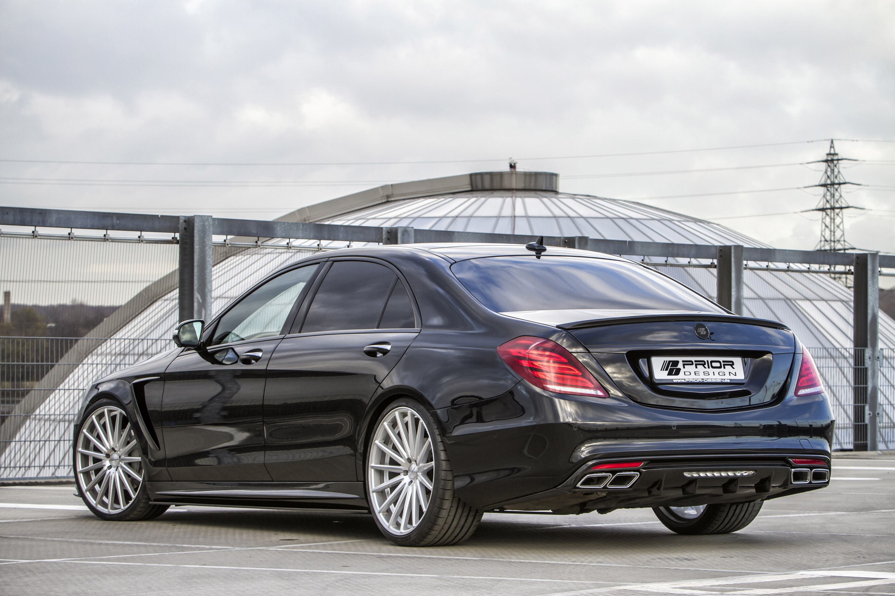 Prior design releases new styling kit for mercedes benz s for Mercedes benz design