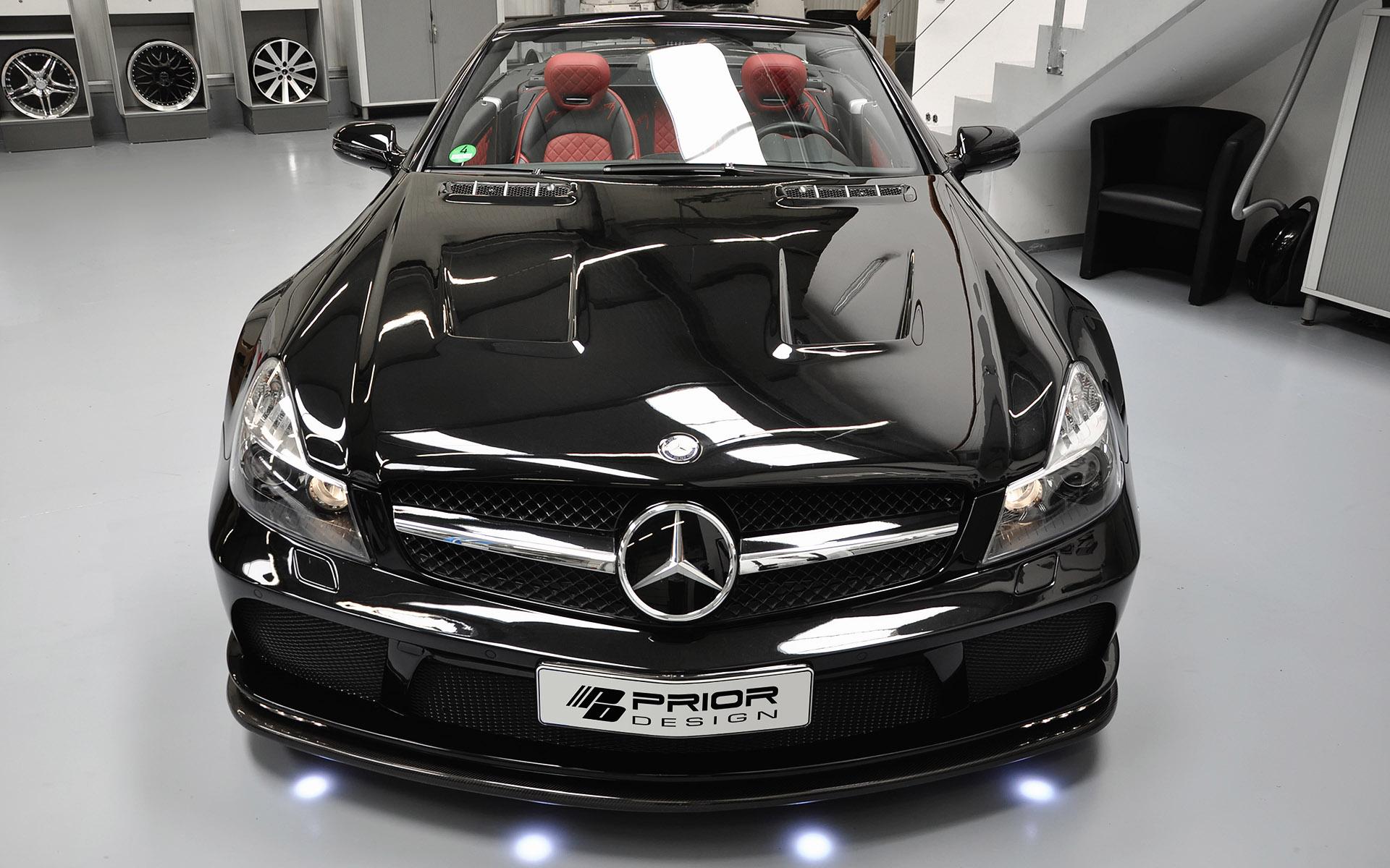 Prior Design Mercedes Benz Sl R230 Black Edition