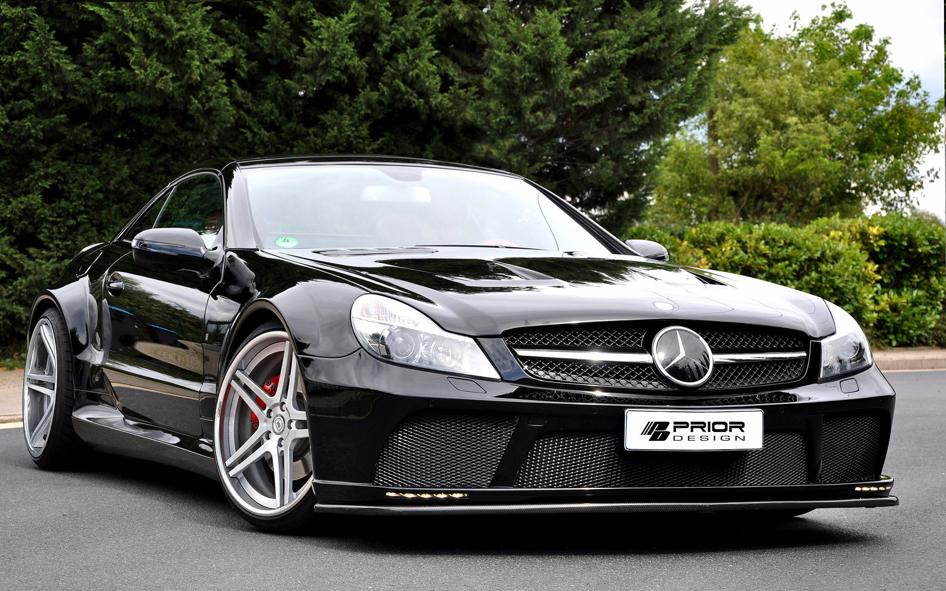 Prior Design Mercedes-Benz SL R230 Black Edition
