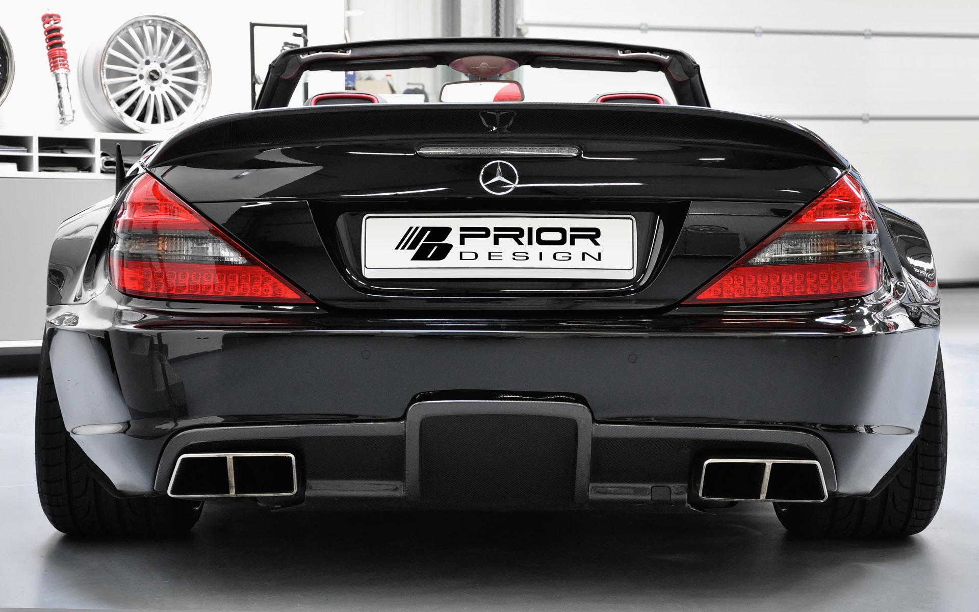 Car Windshield Replacement >> Prior Design Mercedes-Benz SL R230 Black Edition