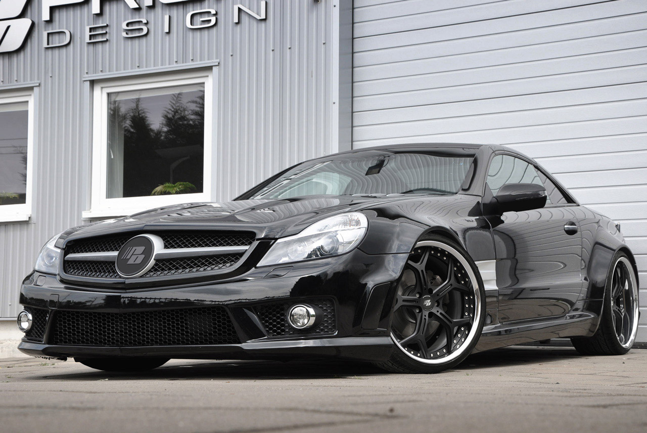Prior design pd series kit for the mercedes benz sl r230 for Mercedes benz upholstery kits