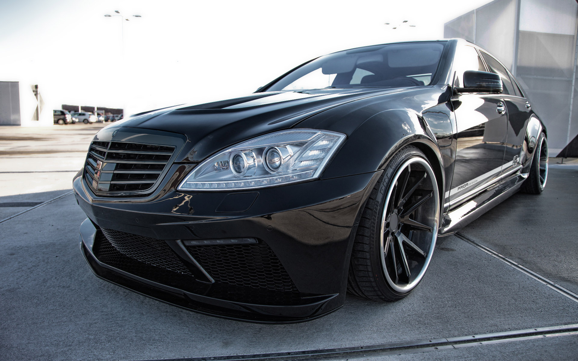 Prior Design Black Edition V2 Widebody Mercedes Benz S Class W221