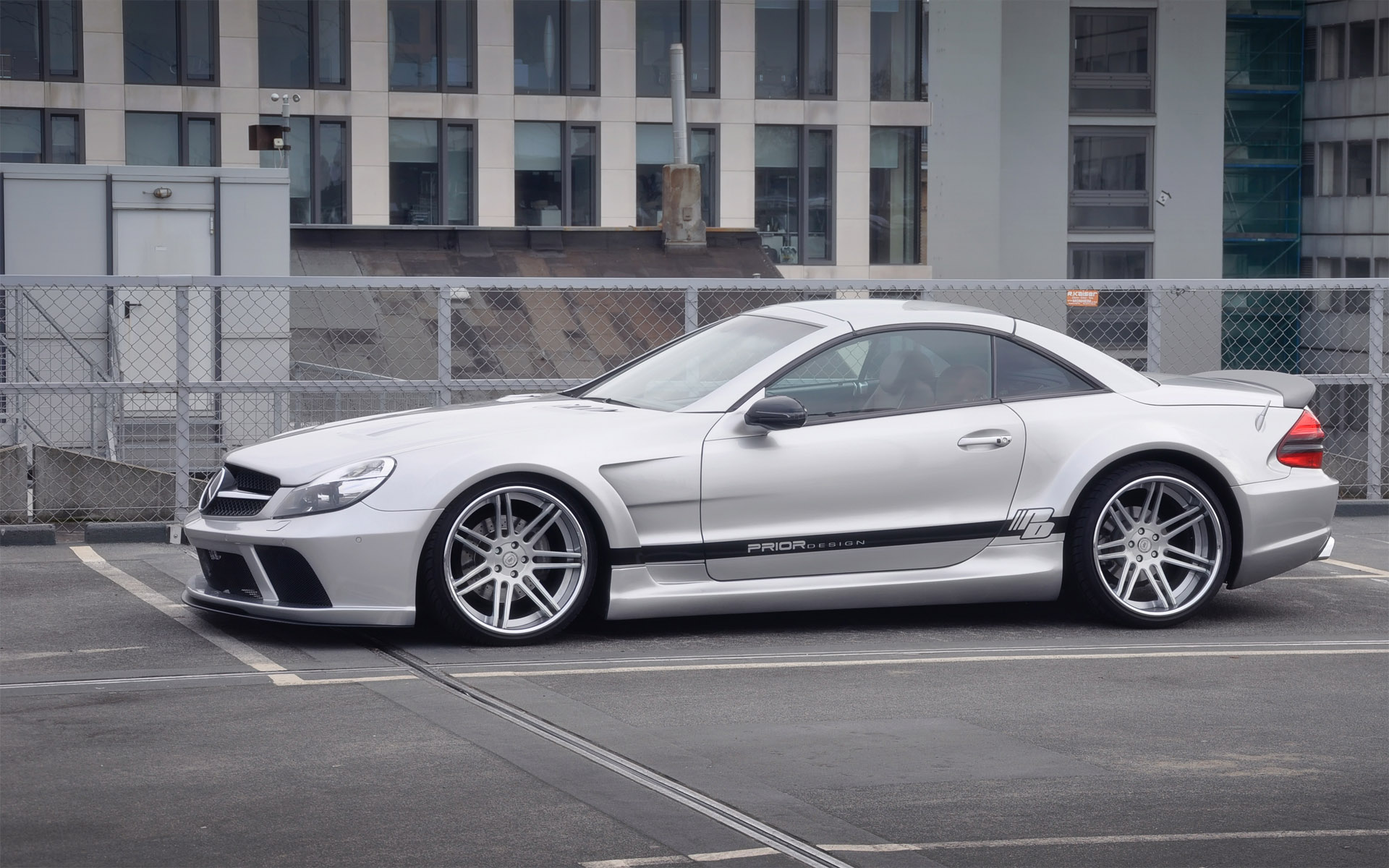 latest prior mercedes sl black edition