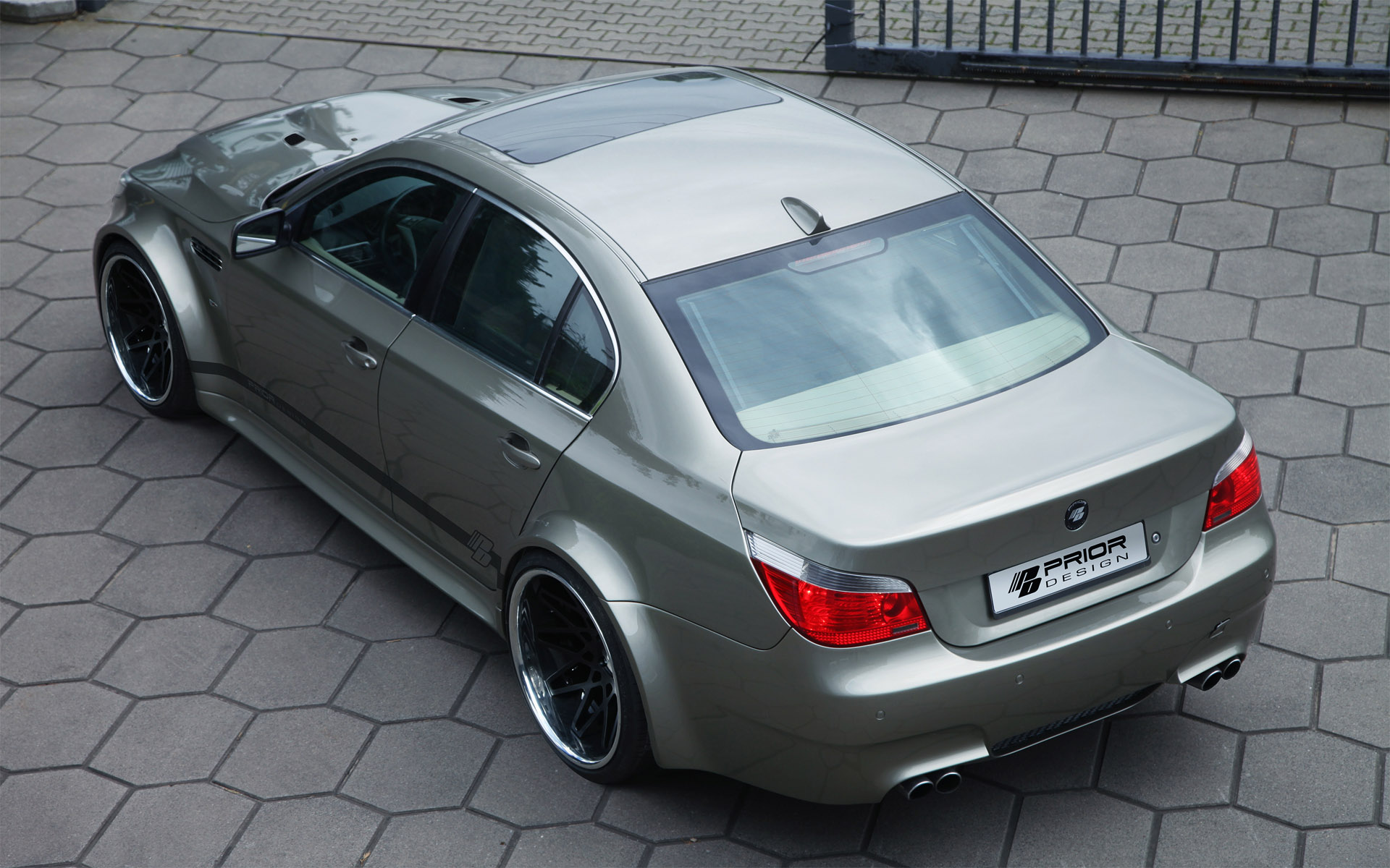 prior design widebody kit bmw 5 series e60. Black Bedroom Furniture Sets. Home Design Ideas