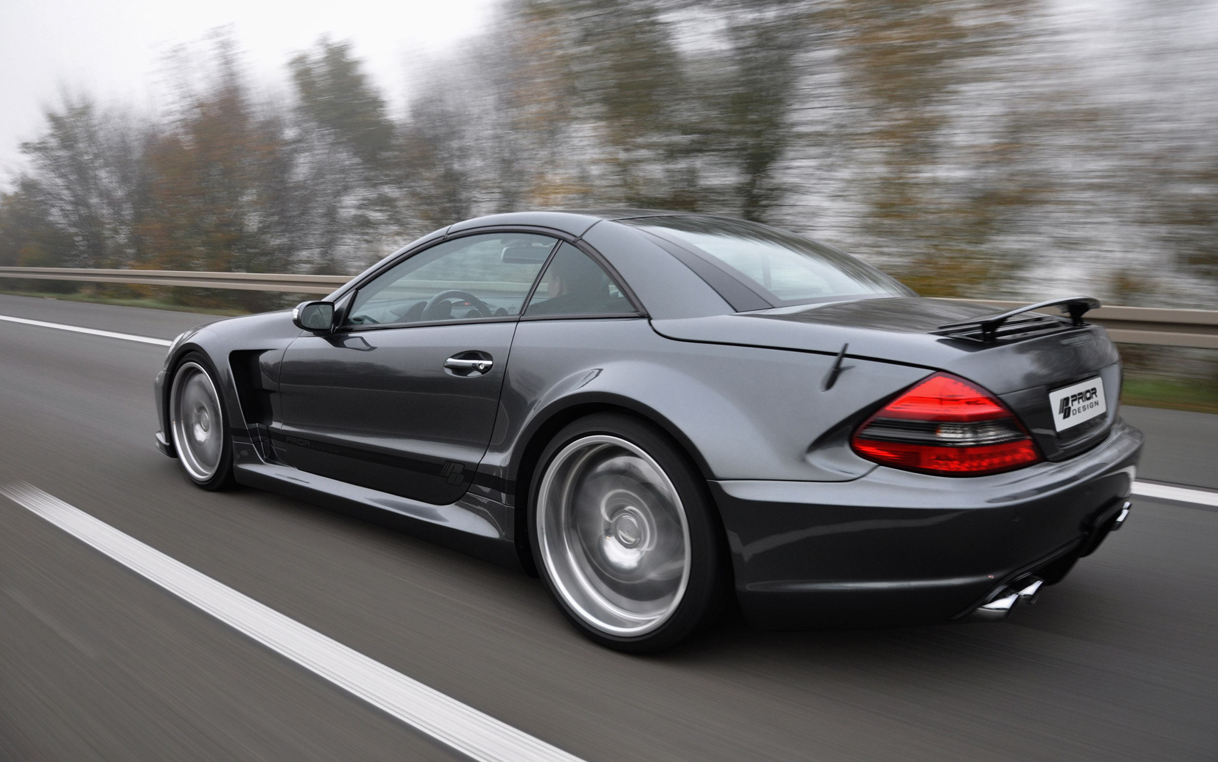 Prior Pd Blackedition Widebody Kit Mercedes Sl Picture 64170