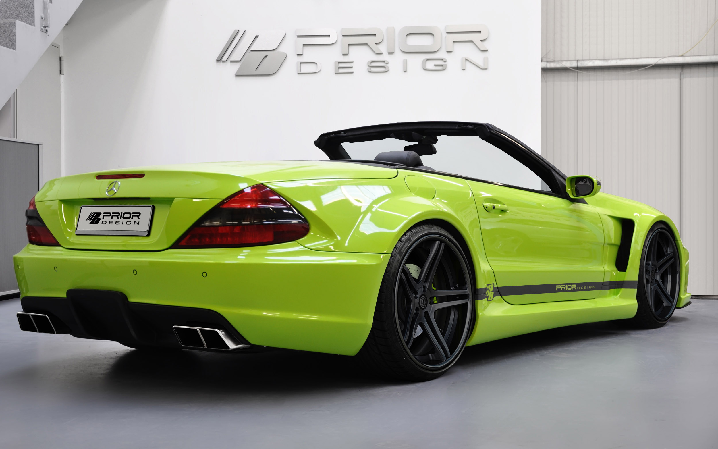 Prior Pd Blackedition Widebody Kit Mercedes Sl Picture 64175