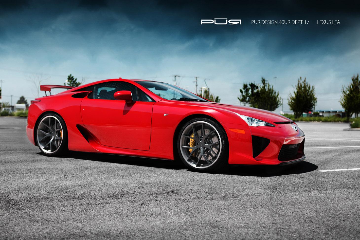 Lexus Is 200 >> PUR Design Lexus LFA - the aggressive beauty