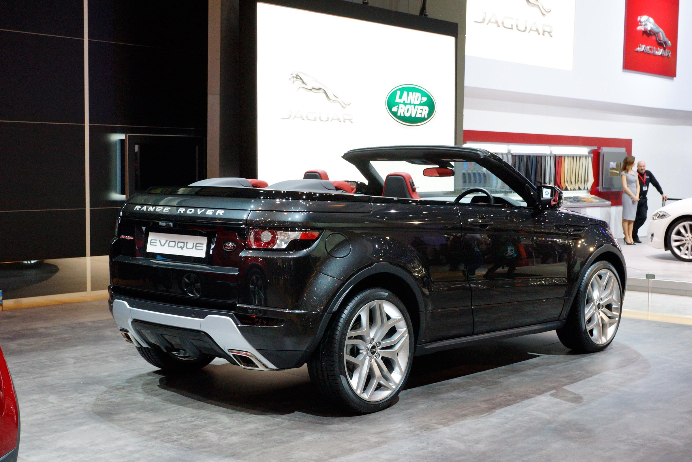 2012 geneva motor show range rover evoque convertible. Black Bedroom Furniture Sets. Home Design Ideas