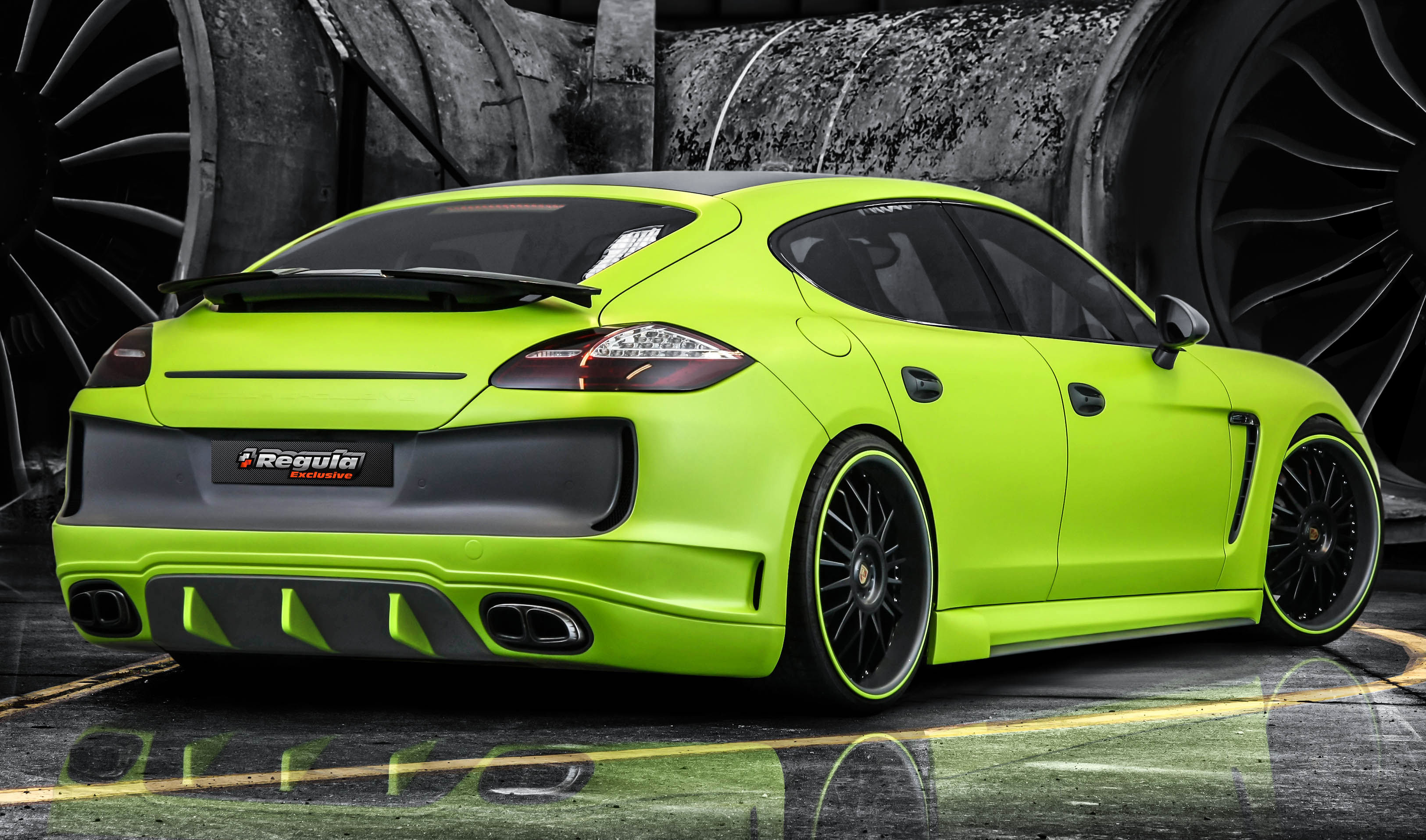 Dodge Dart Turbo >> Regula Exclusive Porsche Panamera in Carbon Fiber