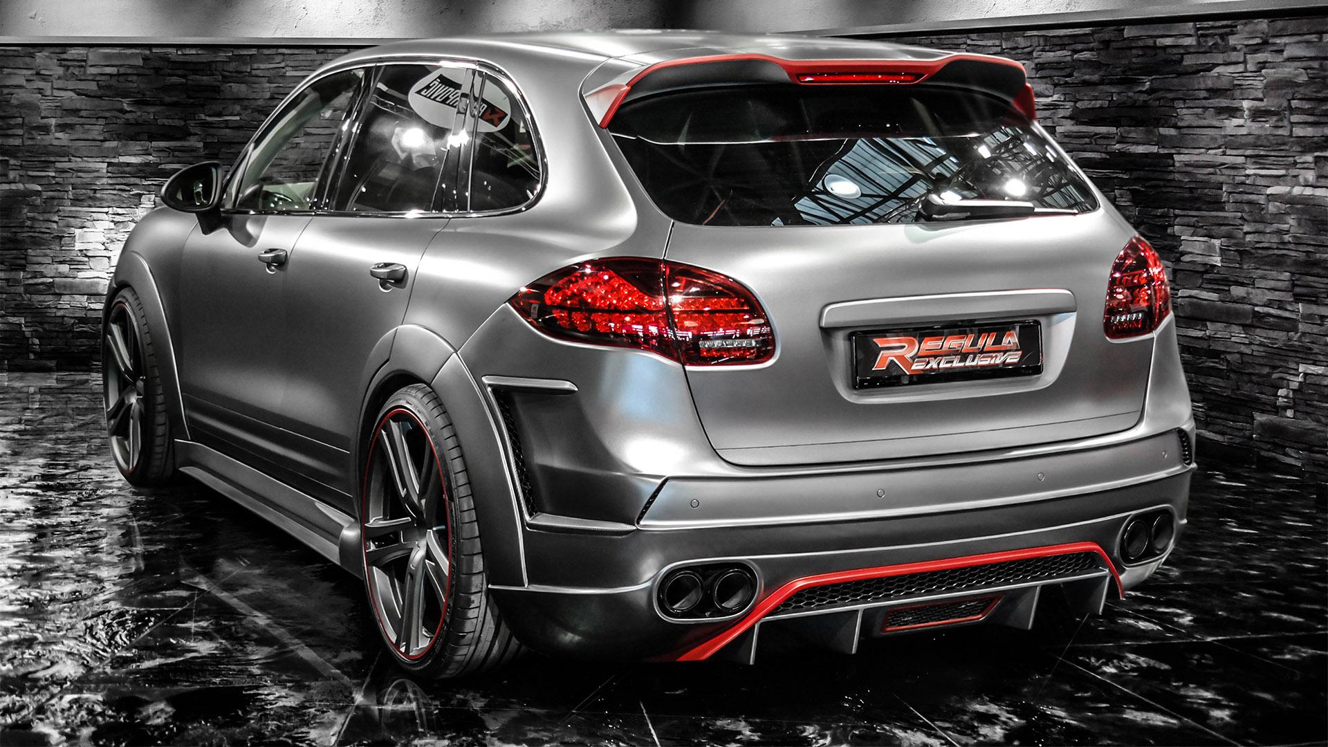 Красный Porsche Cayenne скачать