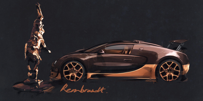 rembrandt bugatti veyron grand sport vitesse sold out. Black Bedroom Furniture Sets. Home Design Ideas