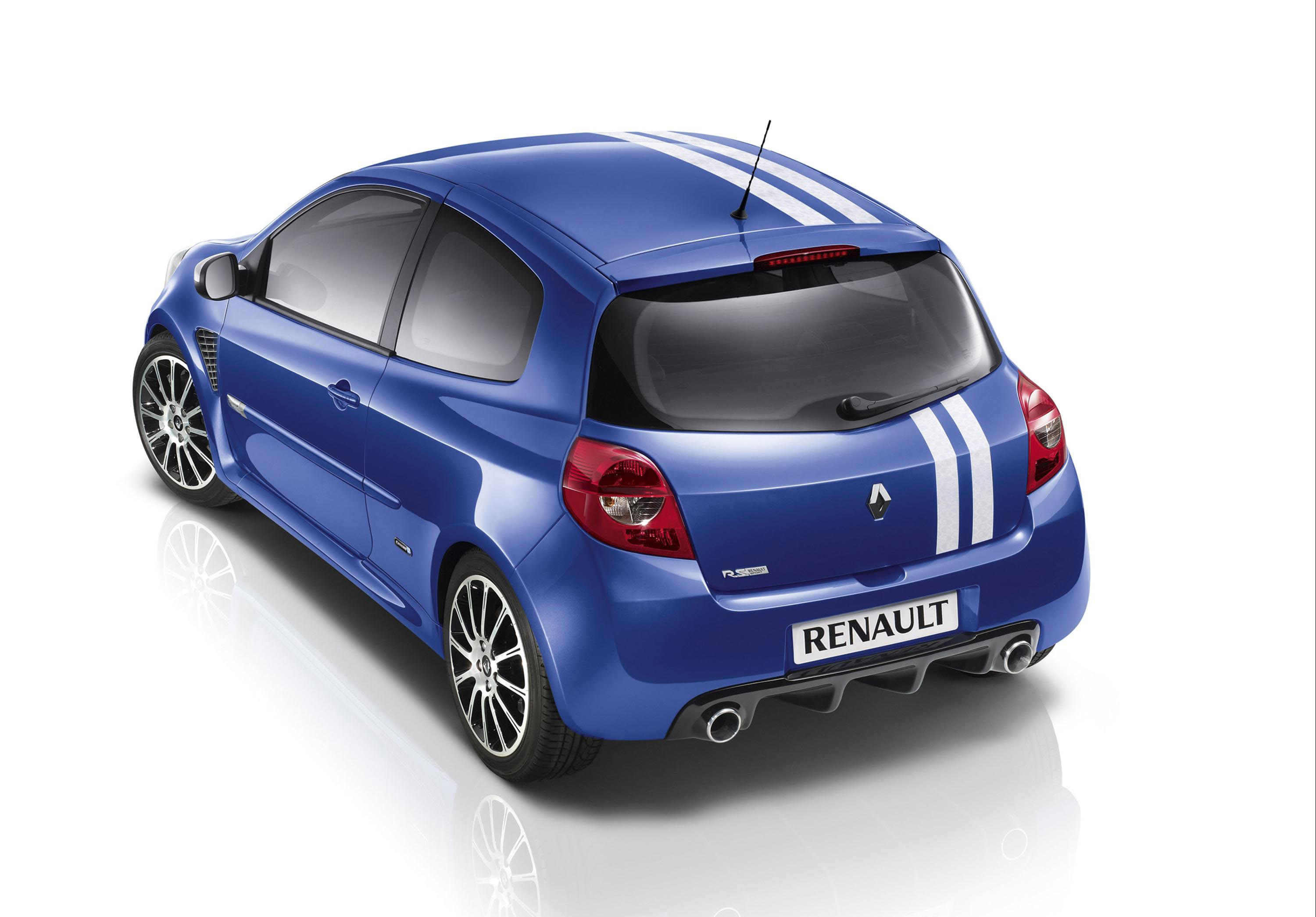 renault reveals gordini styled clio. Black Bedroom Furniture Sets. Home Design Ideas