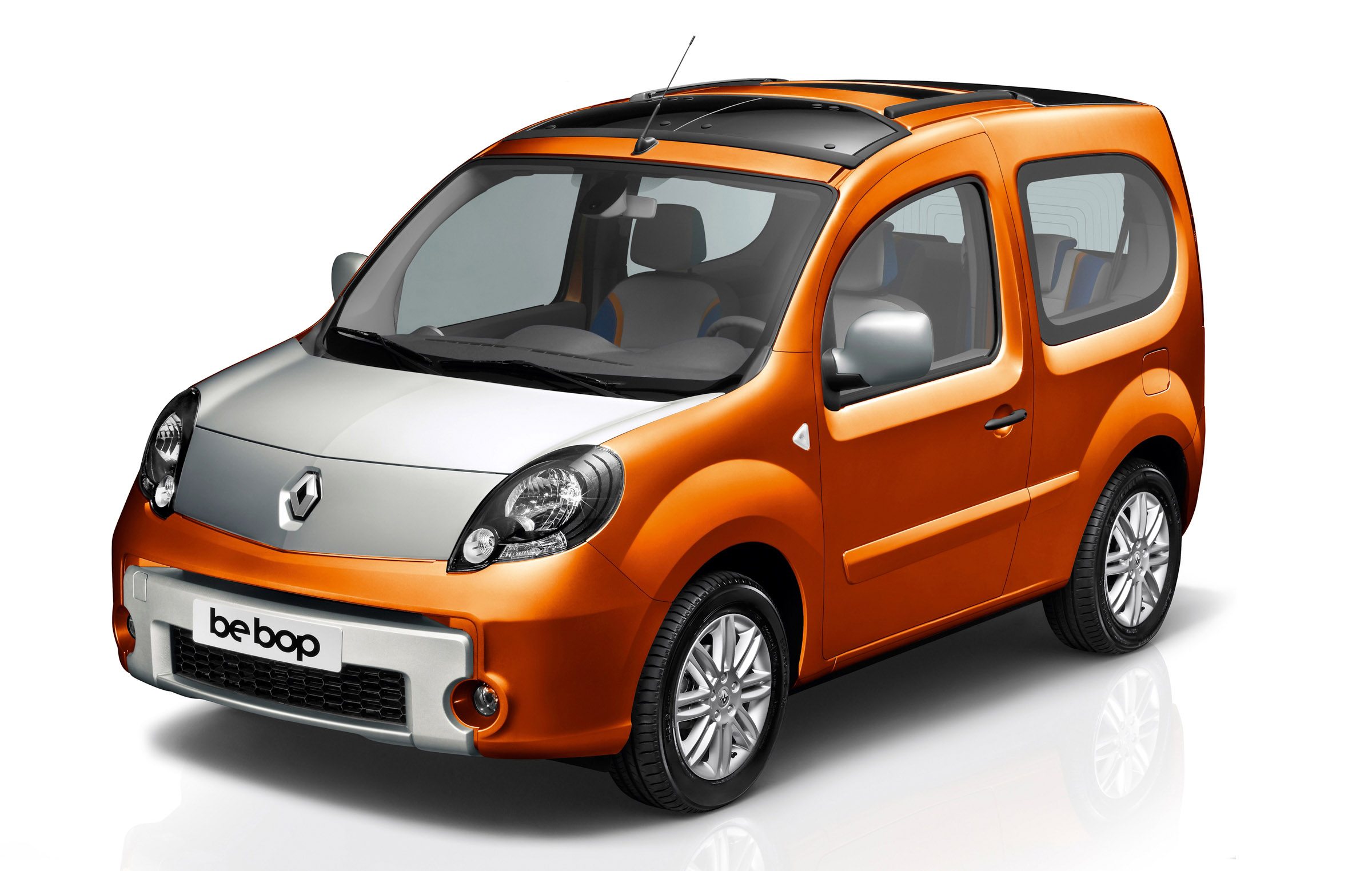 automobiles fan renault unveils new kangoo be bop. Black Bedroom Furniture Sets. Home Design Ideas