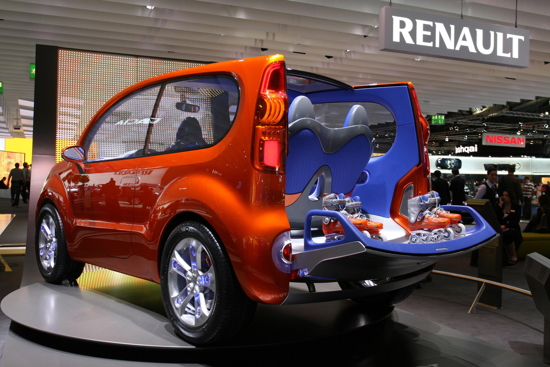 Renault Kangoo Compact Concept Frankfurt 2011 Picture 59054